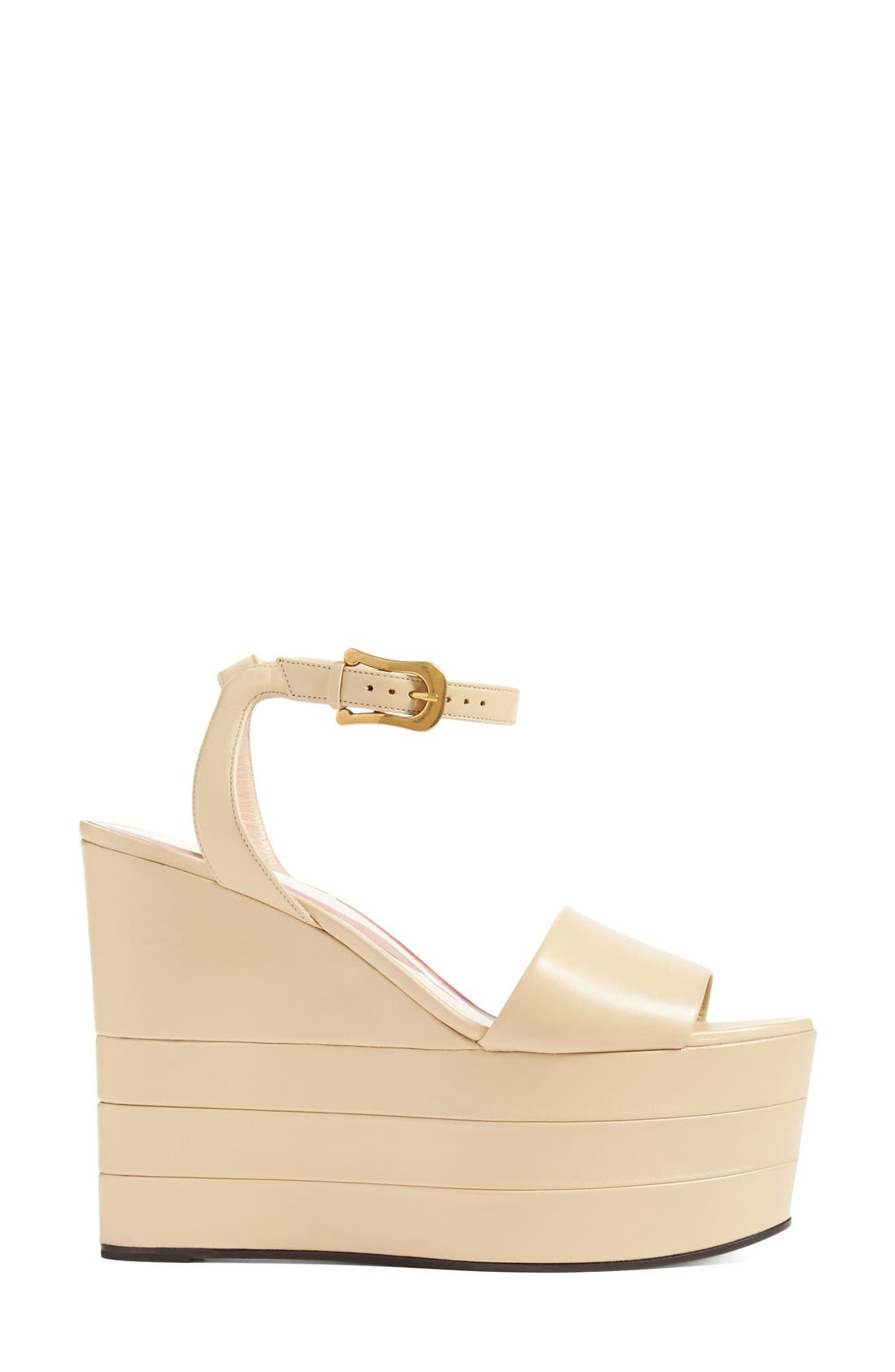 Alternate Image 4  - Gucci 'Sally' Platform Sandal (Women)