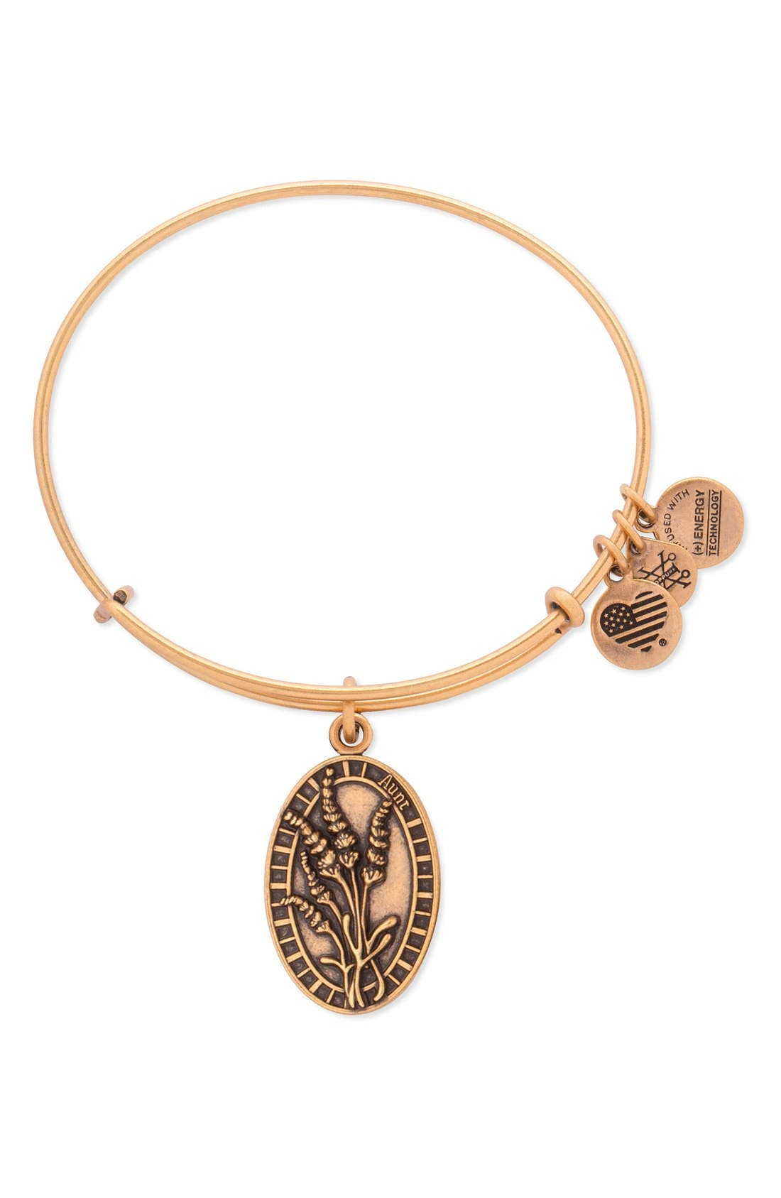 Alex and Ani 'Aunt' Adjustable Wire Bangle