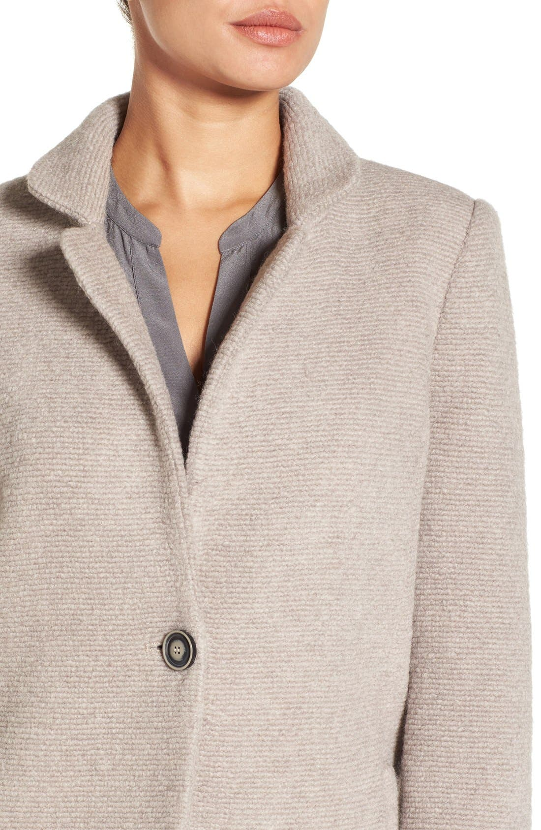 Alternate Image 4  - Kenneth Cole New York Bouclé Coat