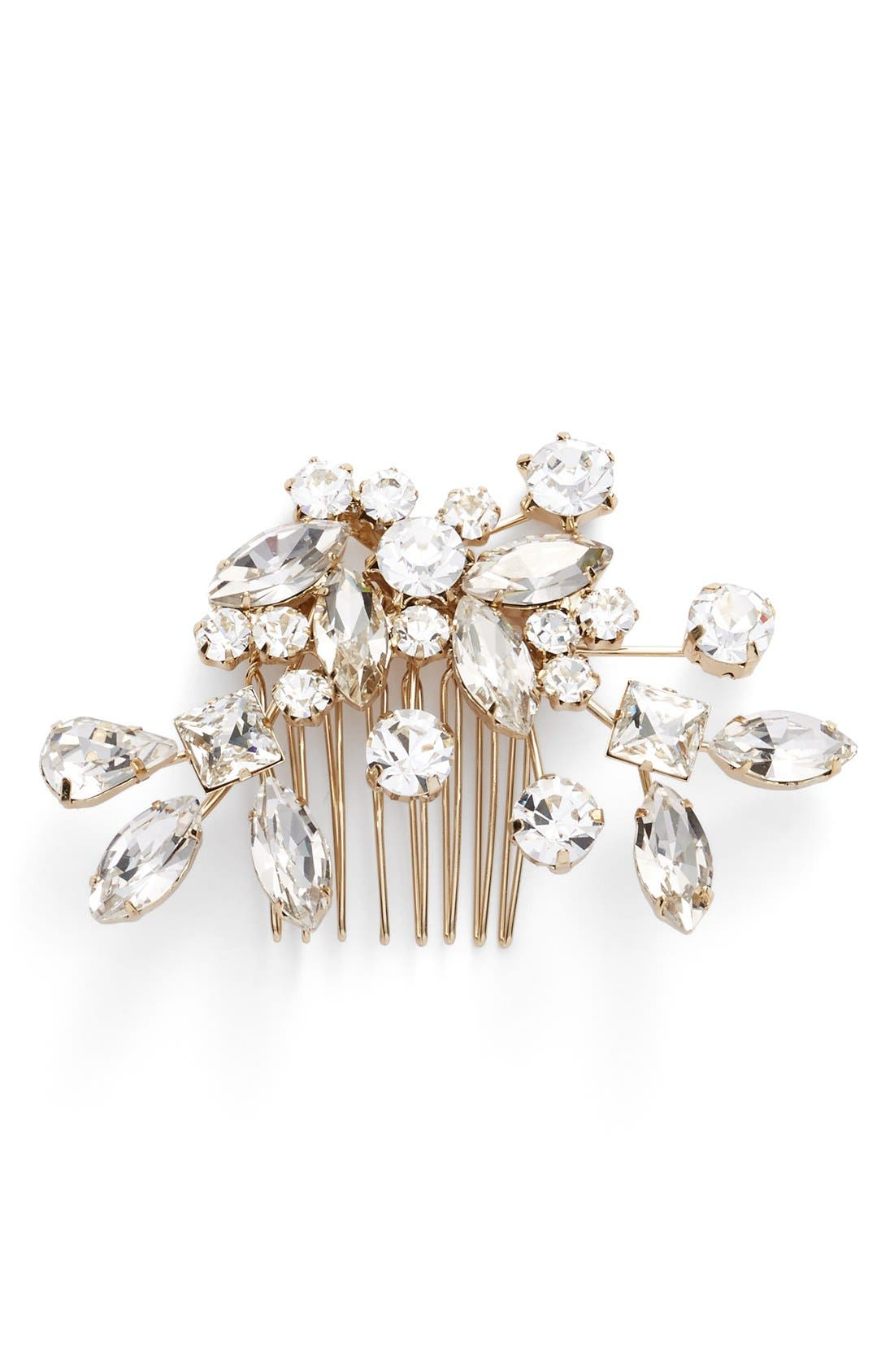 Alternate Image 2  - Brides & Hairpins 'Caprice' Jeweled Hair Comb