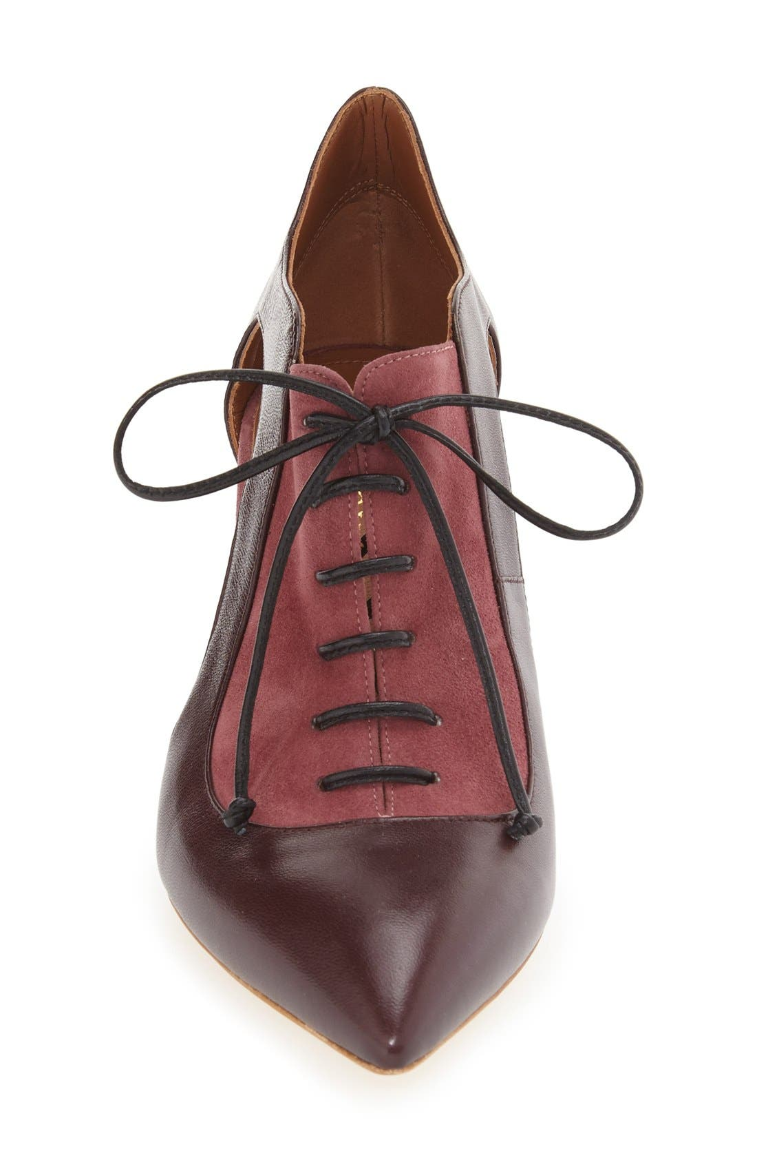 Alternate Image 4  - Malone Souliers 'Lorraine' Lace-Up Pump (Women)