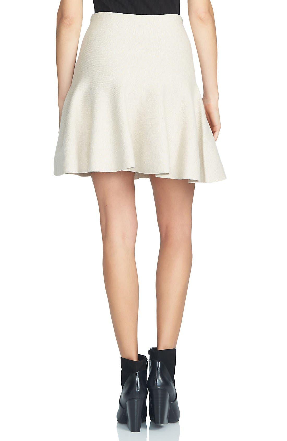 Alternate Image 2  - 1.STATE Flounce Hem Miniskirt