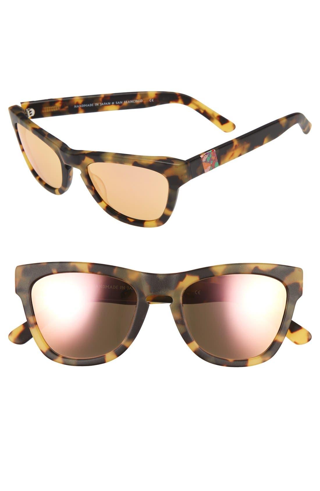 Olivia Palermo x Westward Leaning 'Pioneer' 53mm Sunglasses