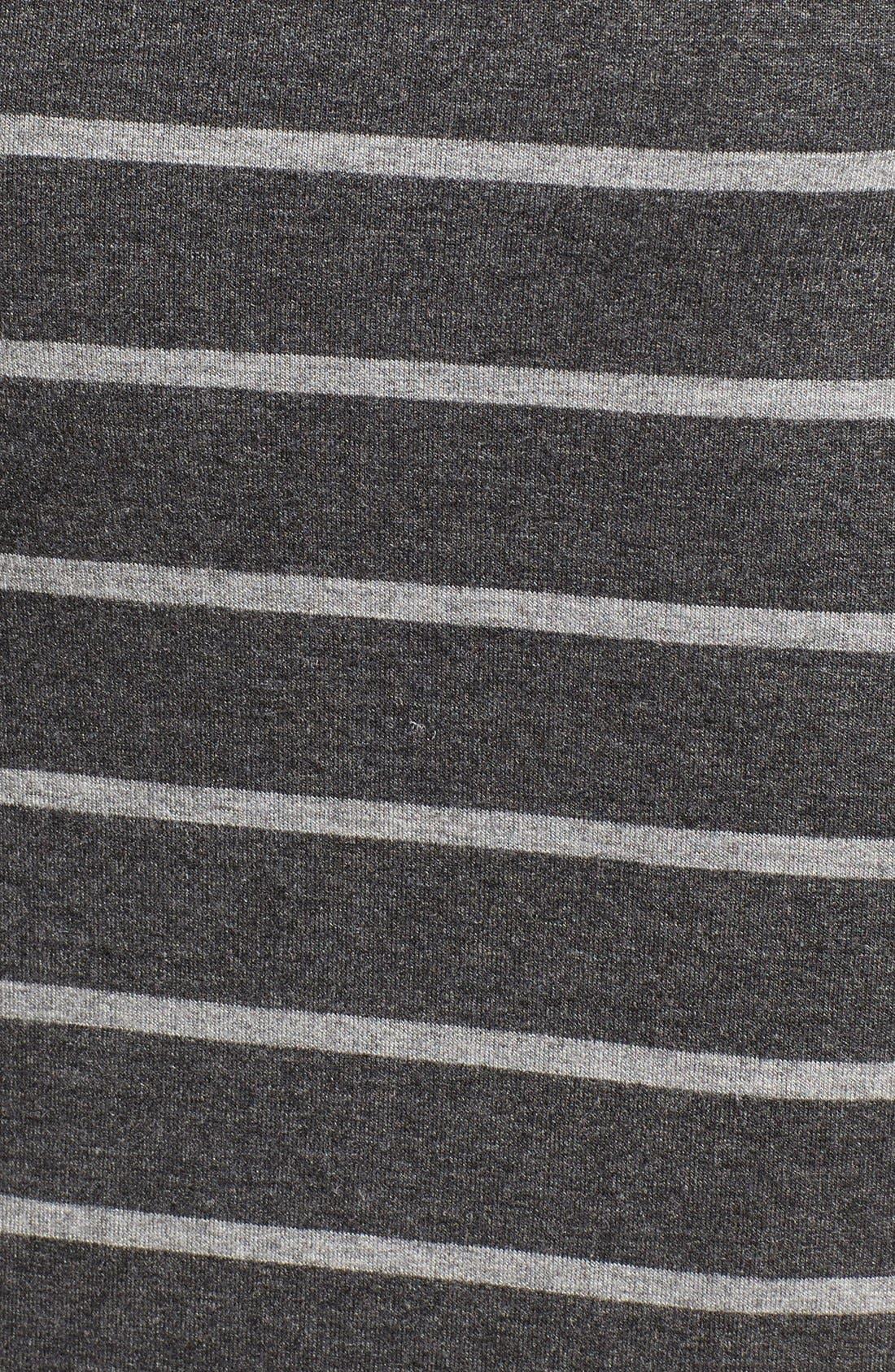 Alternate Image 5  - cupcakes and cashmere 'Malbec' Stripe Body-Con Dress