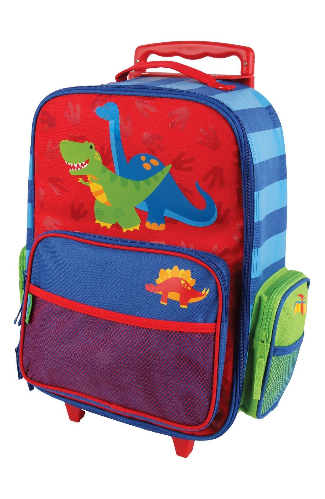 Alternate Image 1 Selected - Stephen Joseph Rolling Suitcase (Kids)