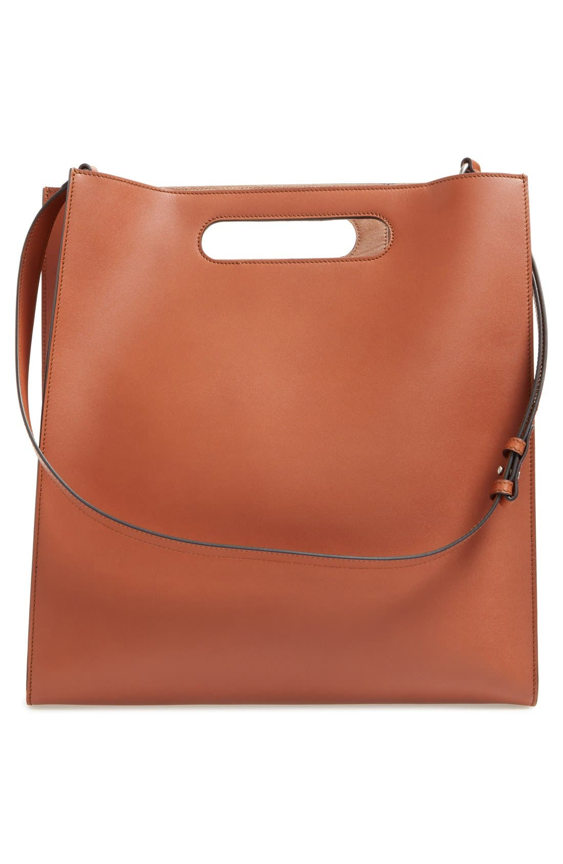Alternate Image 2  - Gucci Embossed Calf Leather Tote