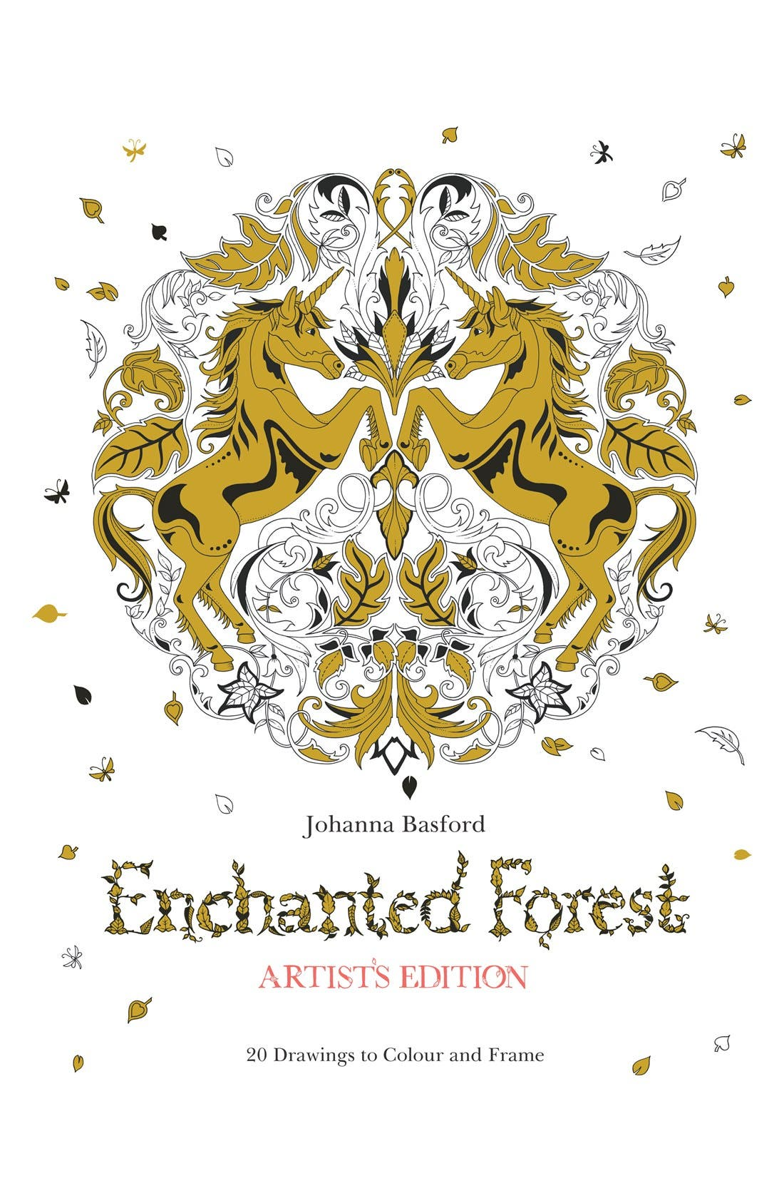 CHRONICLE BOOKS 'Enchanted Forest - Artist's Edition' Coloring