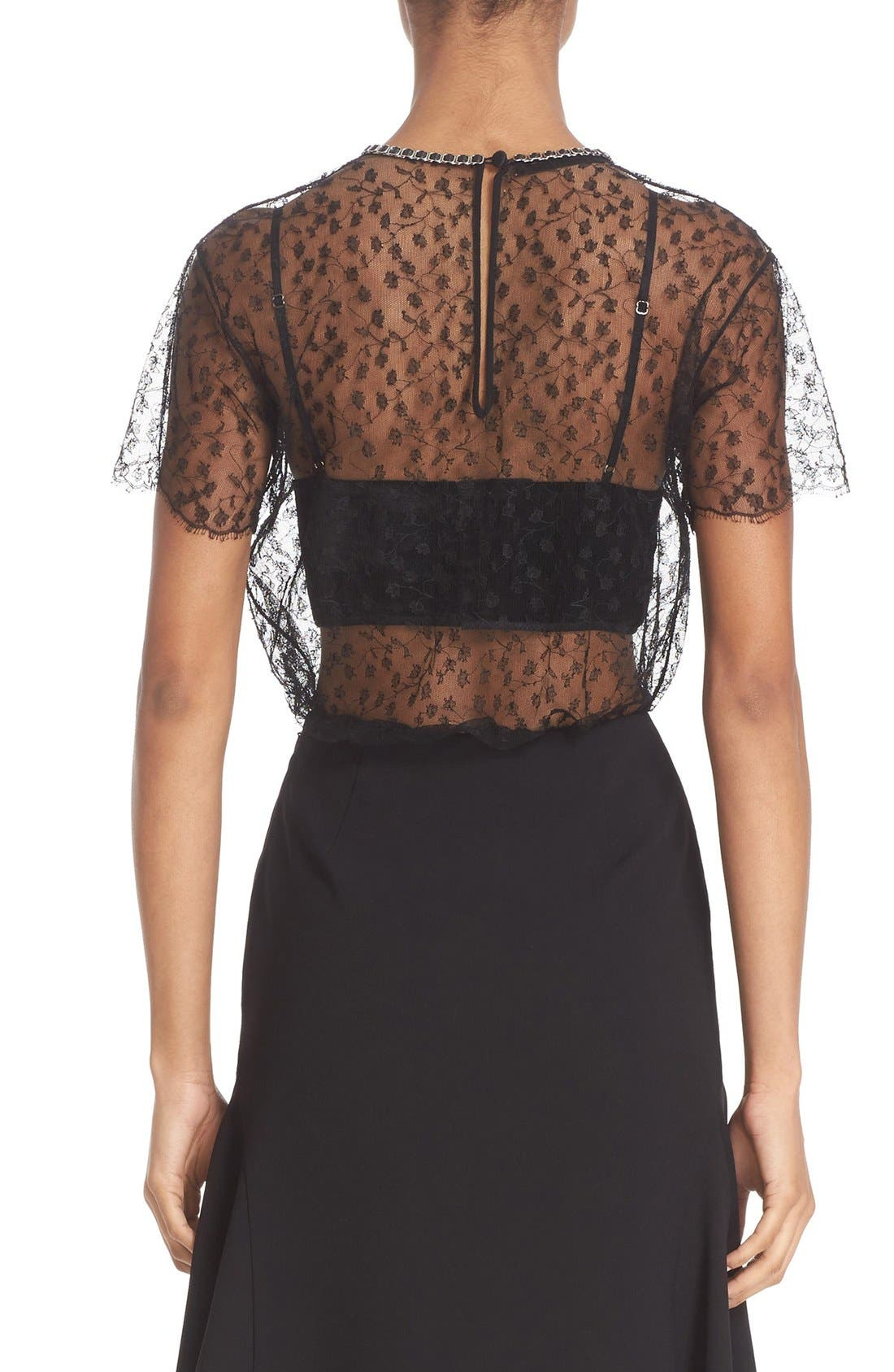 Alternate Image 5  - Alexander Wang 'Strict' Lace Tee