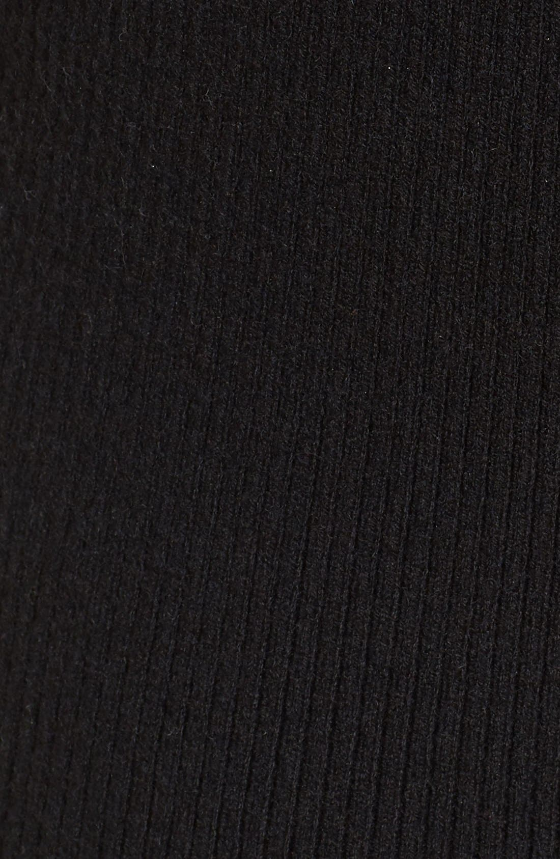 Alternate Image 5  - Nordstrom Collection Wool Blend Rib Sweater Dress