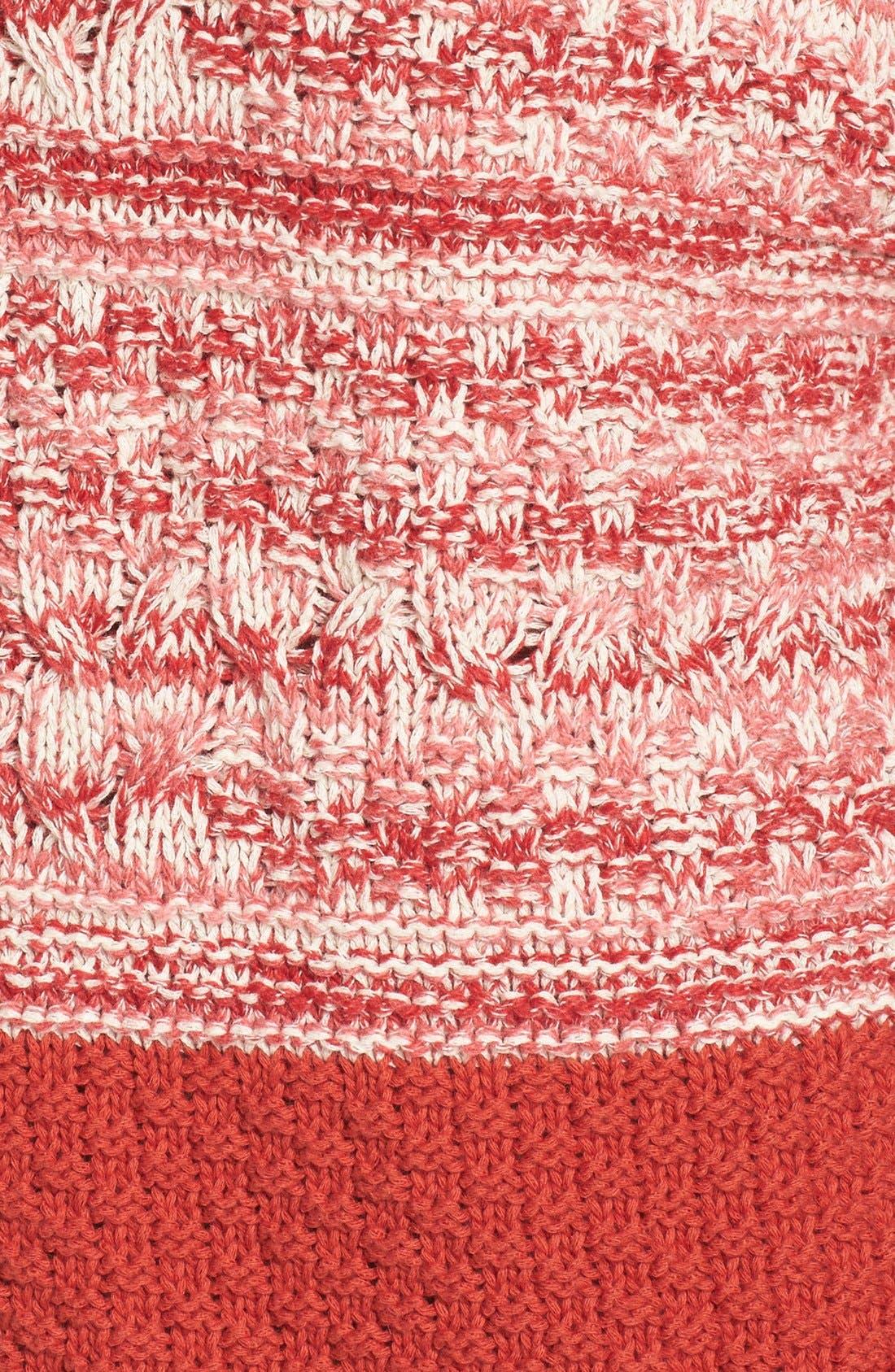 Alternate Image 6  - Caslon® Colorblock Marl Knit Sweater