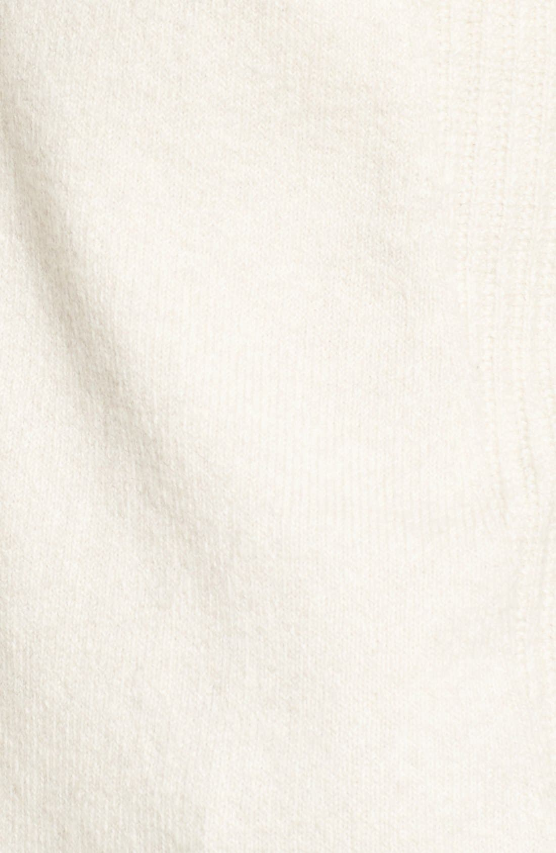 Alternate Image 6  - Caslon® Cozy Rib Detail Relaxed Turtleneck (Regular & Petite)