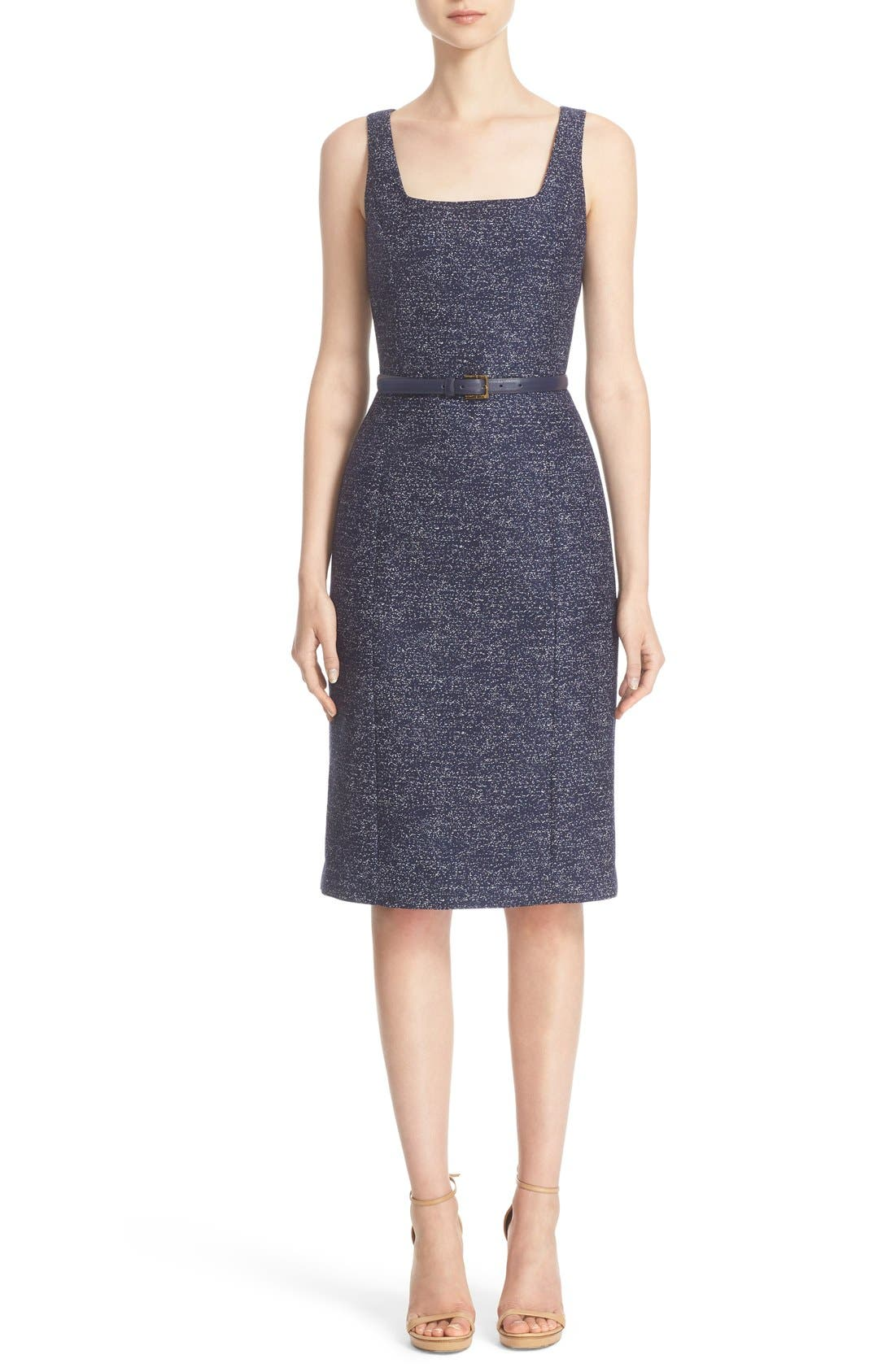 MICHAEL KORS Wool Jacquard Dress