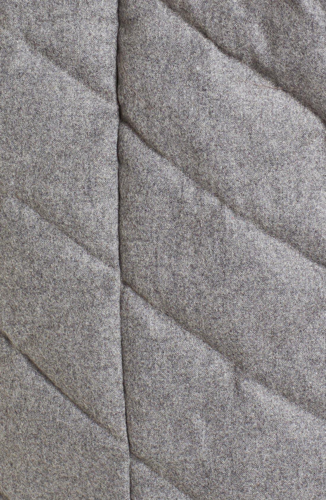 Alternate Image 5  - Nau Wool Blend Quilted Down Coat