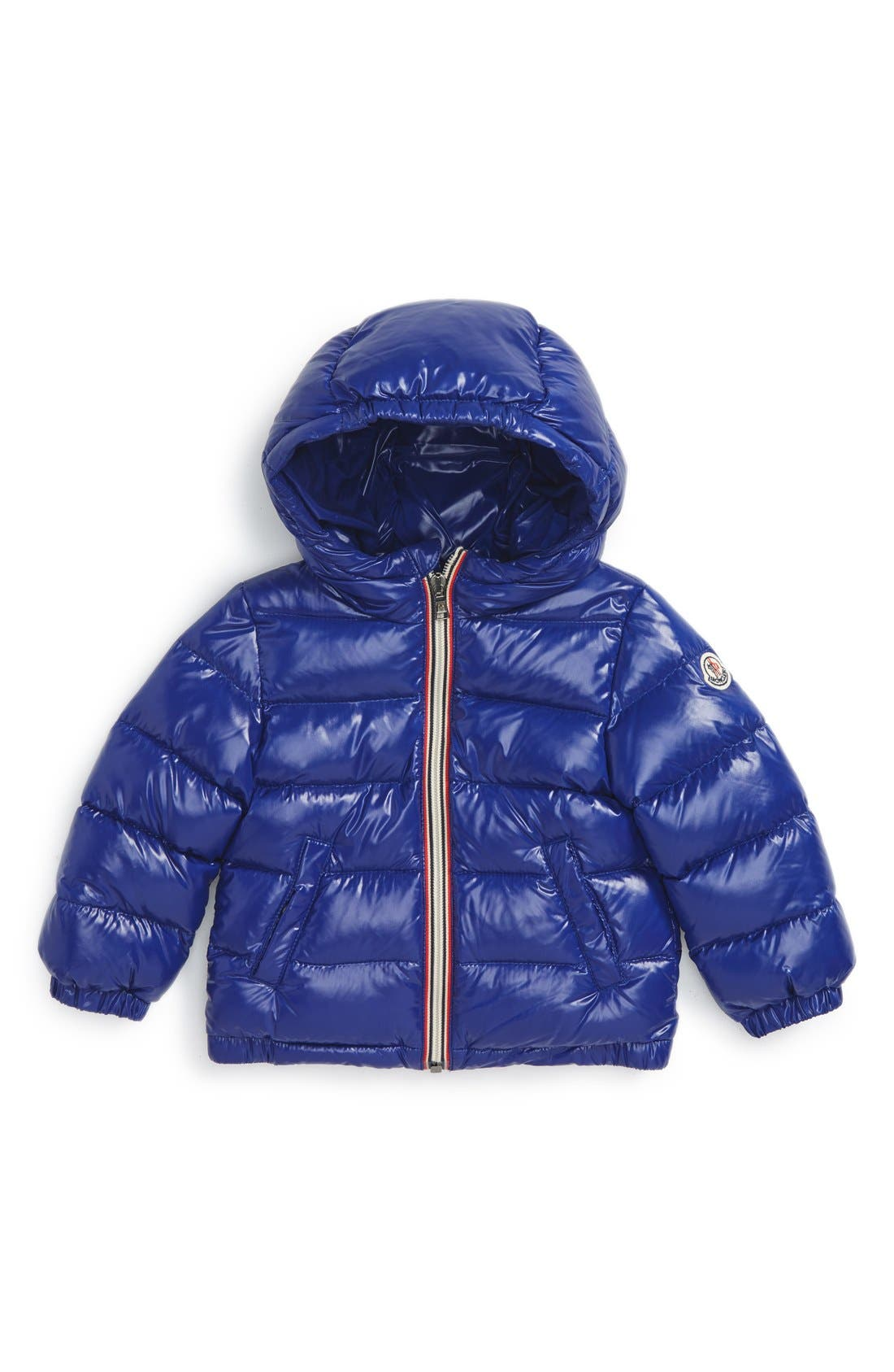 Moncler 'Aubert' Hooded Jacket (Baby Boys)