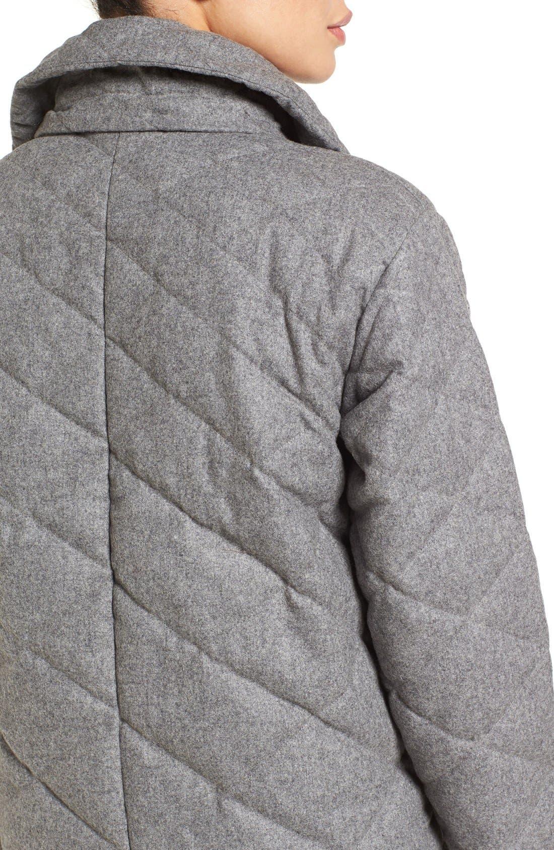 Alternate Image 4  - Nau Wool Blend Quilted Down Coat