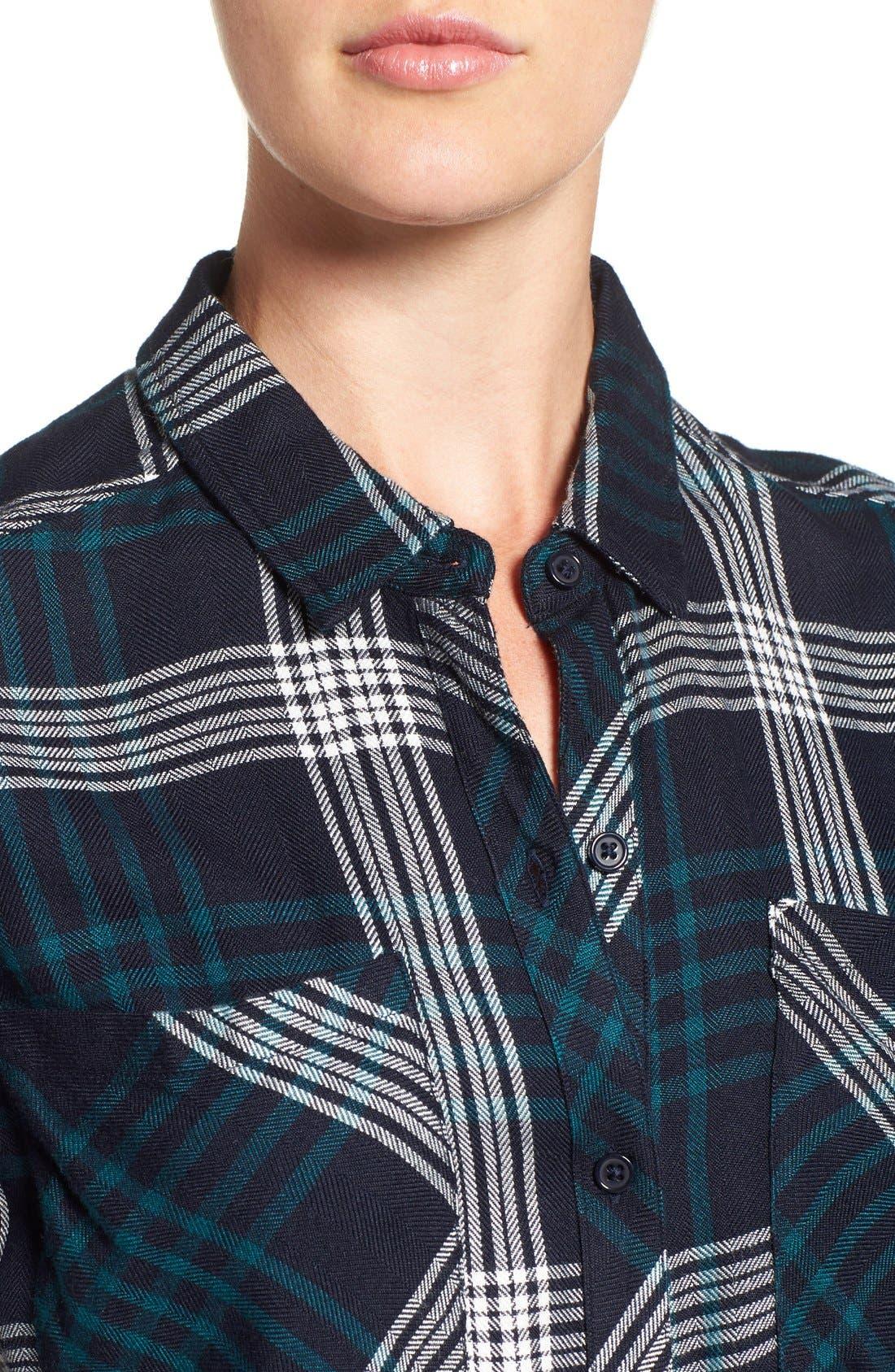 Alternate Image 4  - Rails 'Dylan' Plaid Shirt