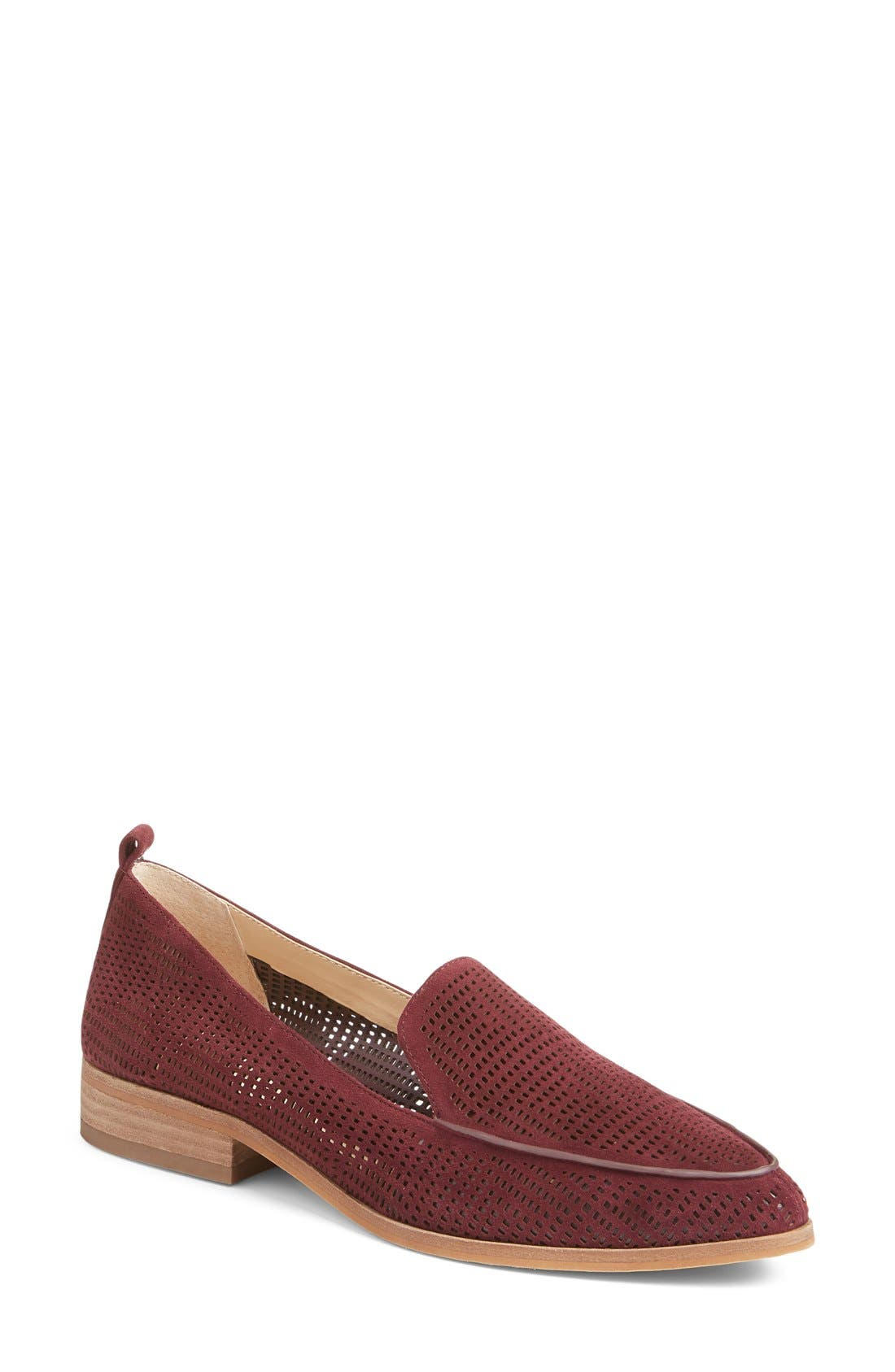 Alternate Image 1 Selected - Vince Camuto 'Kade' Cutout Loafer (Women) (Nordstrom Exclusive)