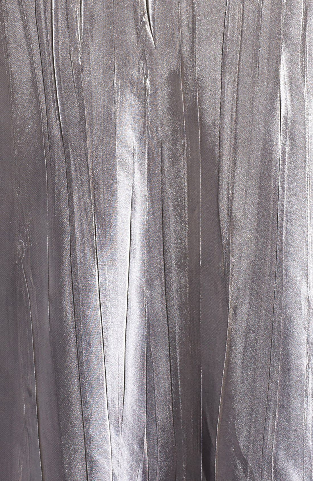 Alternate Image 5  - Komarov A-Line Dress & Lace Panel Jacket (Plus Size)