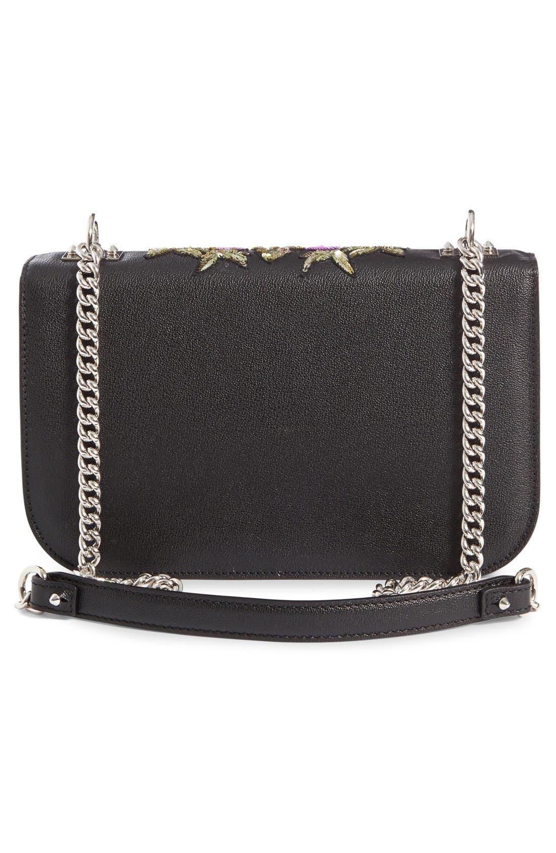 Alternate Image 3  - Alexander McQueen Medium Insignia Calfskin Leather Shoulder Bag
