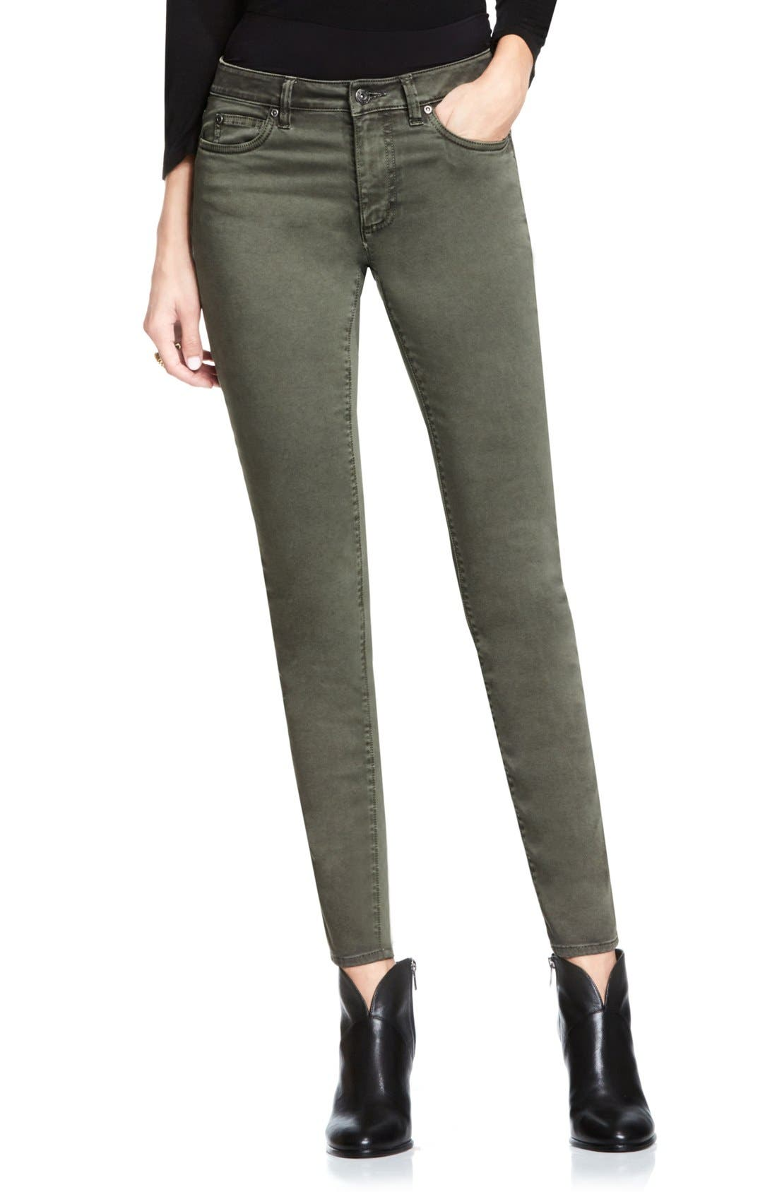 Two by Vince Camuto Colored Five Pocket Skinny Jeans