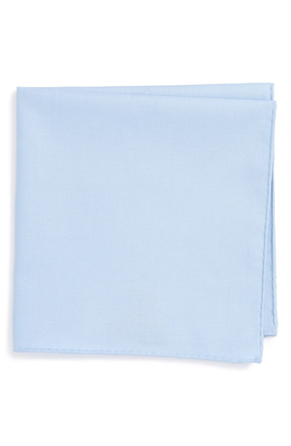 Ted Baker London Solid Cotton Pocket Square