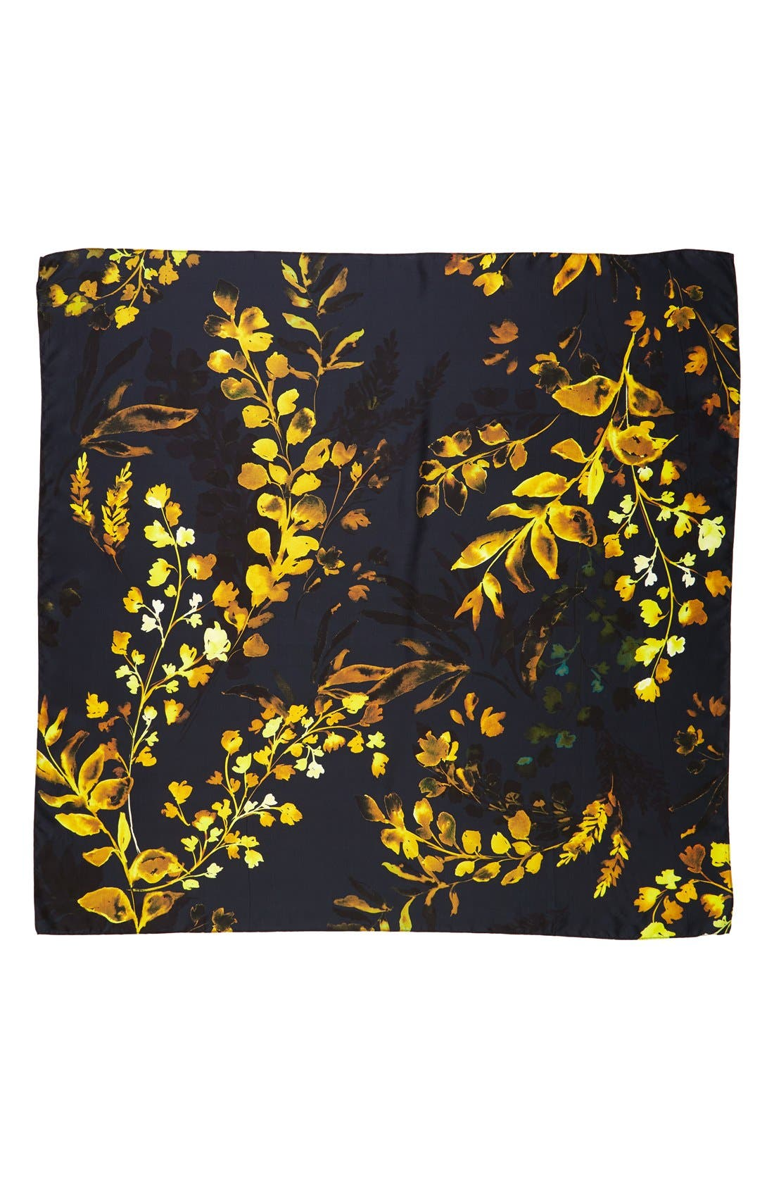 Alternate Image 2  - Nordstrom Woodland Whispers Square Silk Scarf