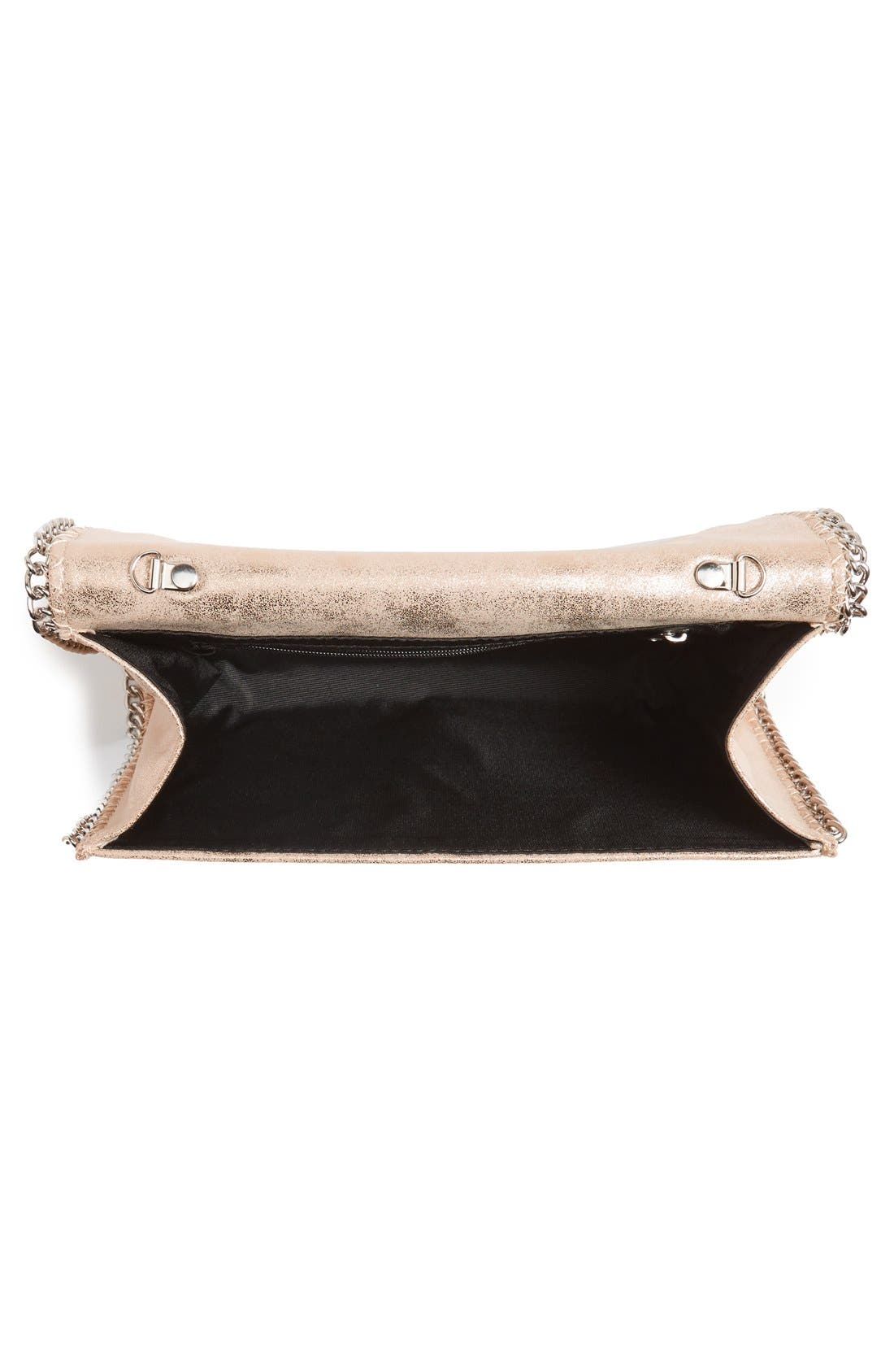 Alternate Image 4  - Chelsea28 Faux Leather Clutch