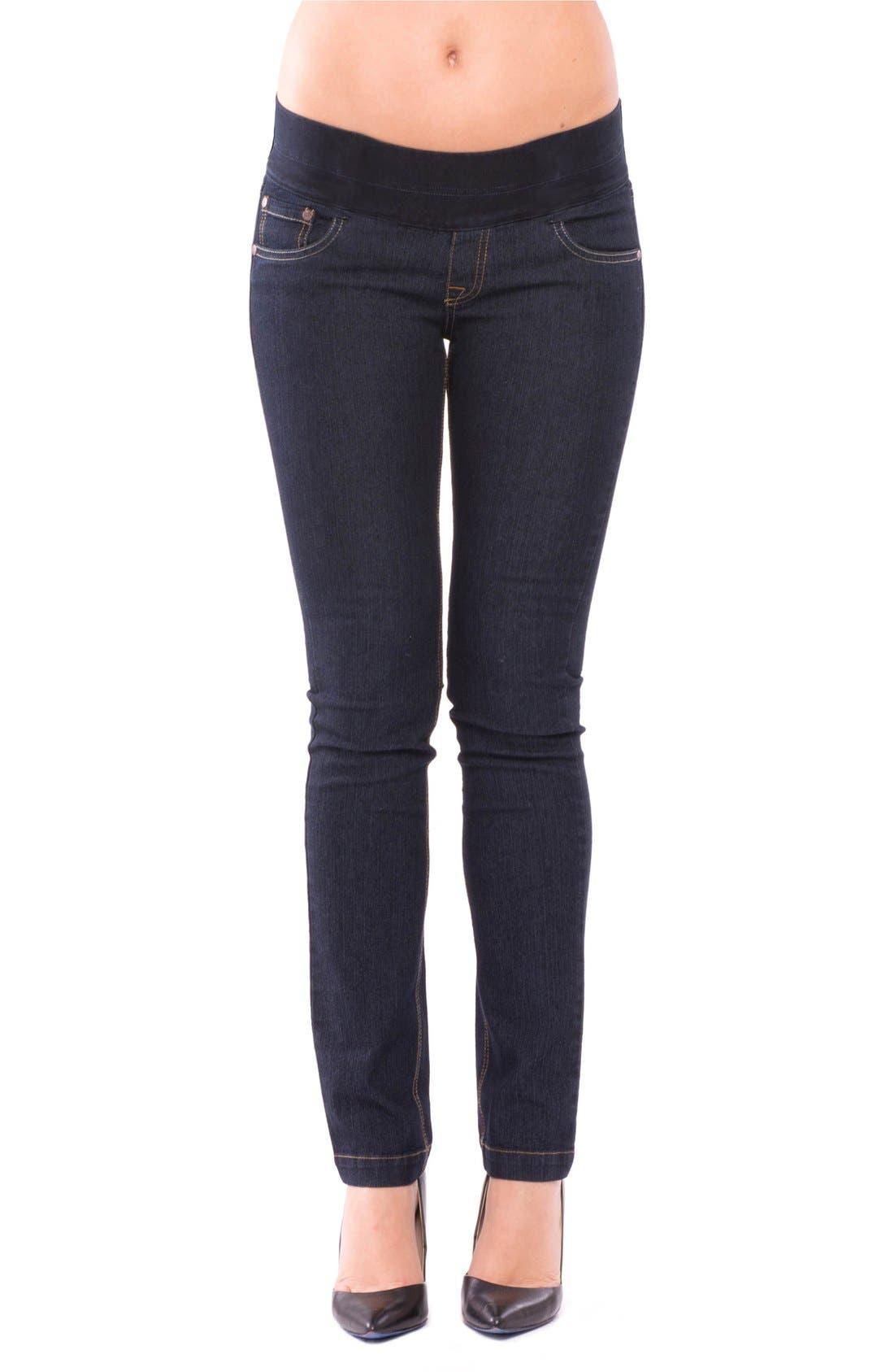 OLIAN 'Geni' Maternity Skinny Jeans