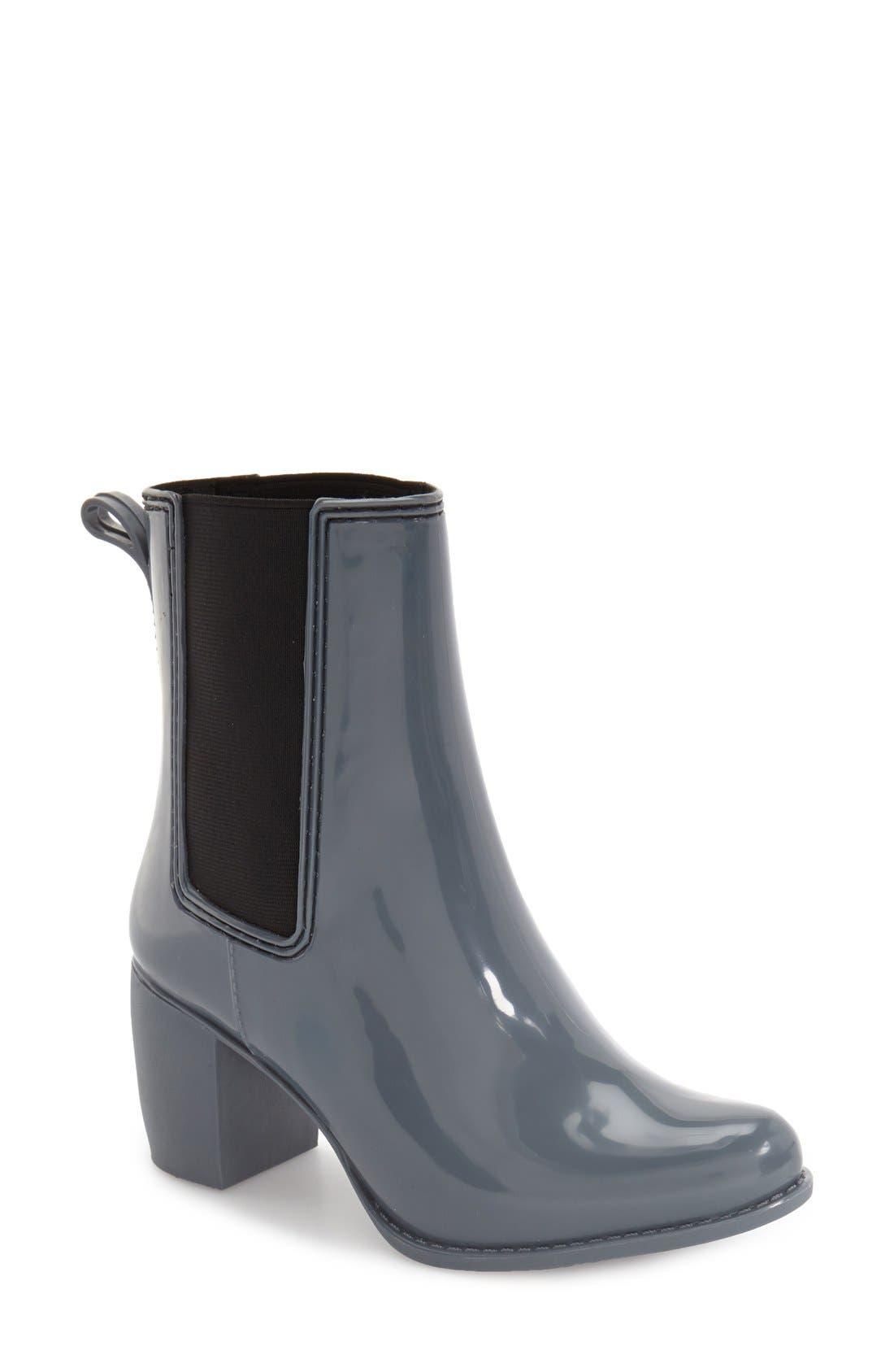 Alternate Image 1 Selected - Jeffrey Campbell 'Clima' Chelsea Rain Boot (Women)
