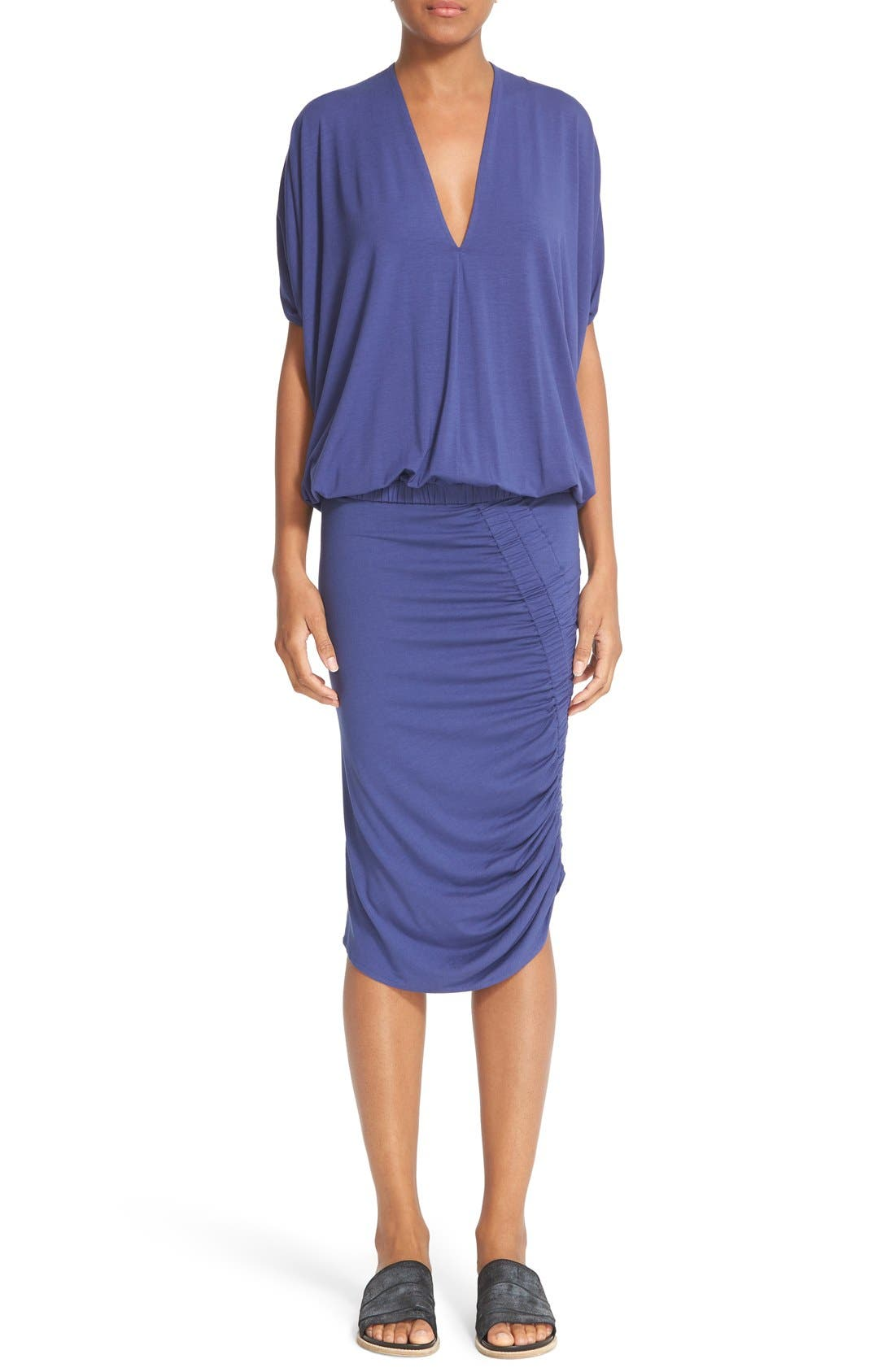 Alternate Image 7  - Zero + Maria Cornejo 'Kia' Ruched Sim Jersey Skirt