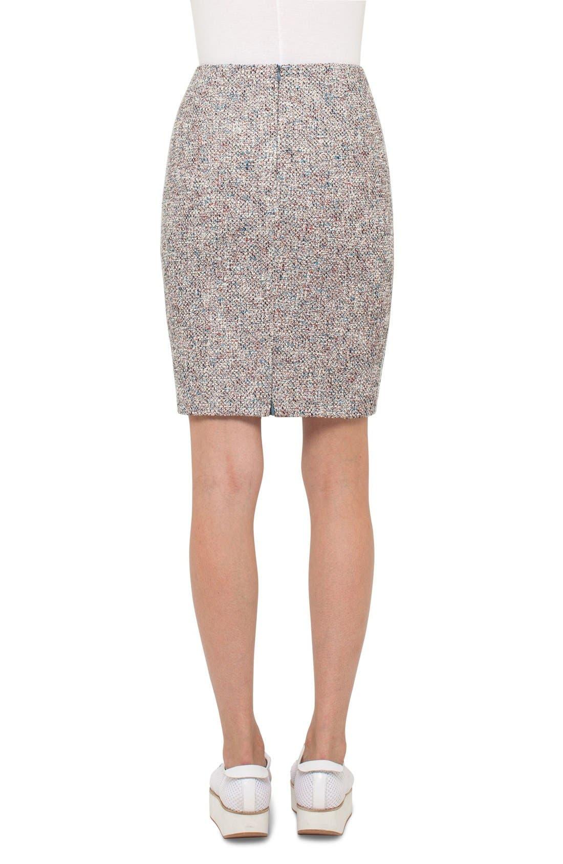 Alternate Image 2  - Akris punto Stretch Tweed Pencil Skirt