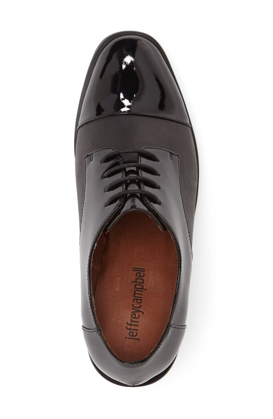 Alternate Image 3  - Jeffrey Campbell 'Egan' Cap Toe Oxford (Women)