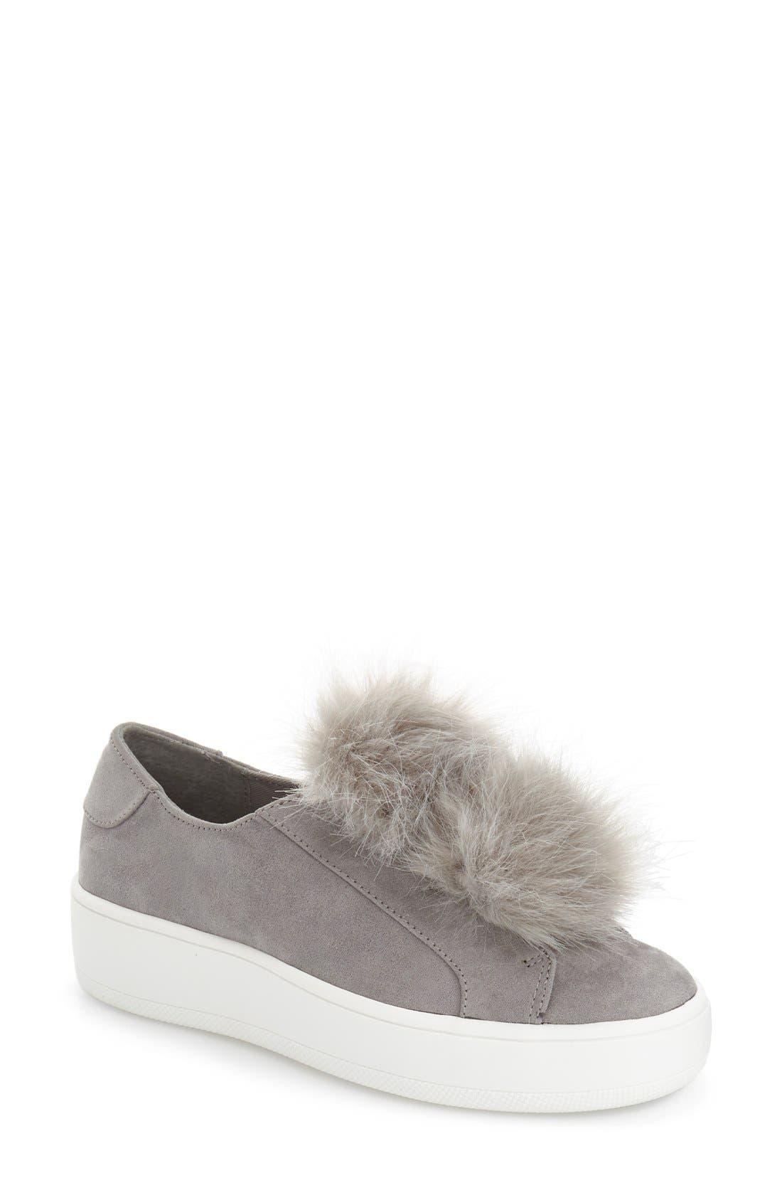 Alternate Image 1 Selected - Steve Madden 'Bryanne' Puffball Platform Sneaker (Women)