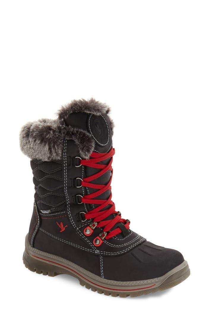 blondo victorina waterproof leather riding boot women