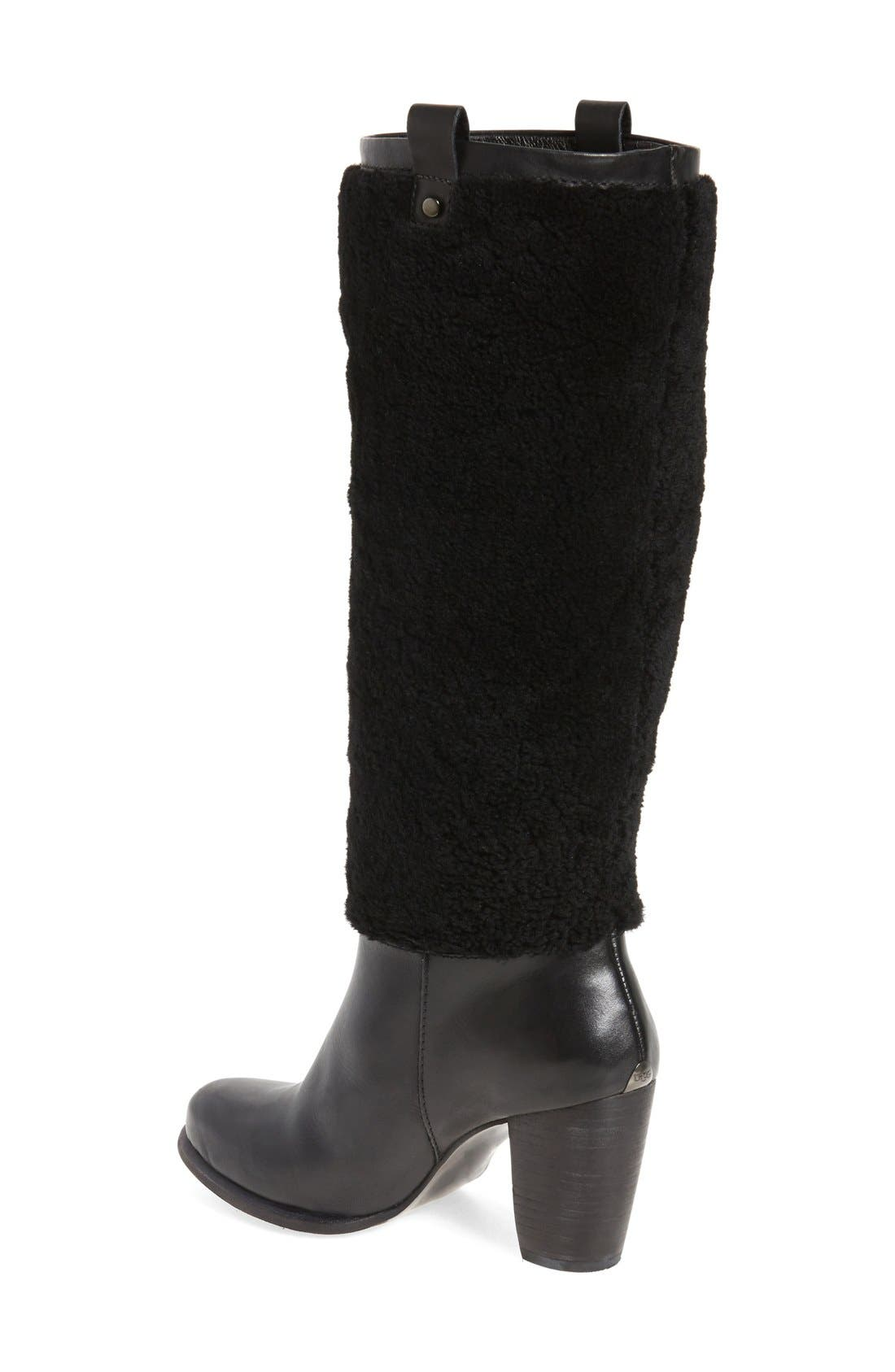 Alternate Image 2  - UGG® Ava Genuine Shearling Boot (Women)