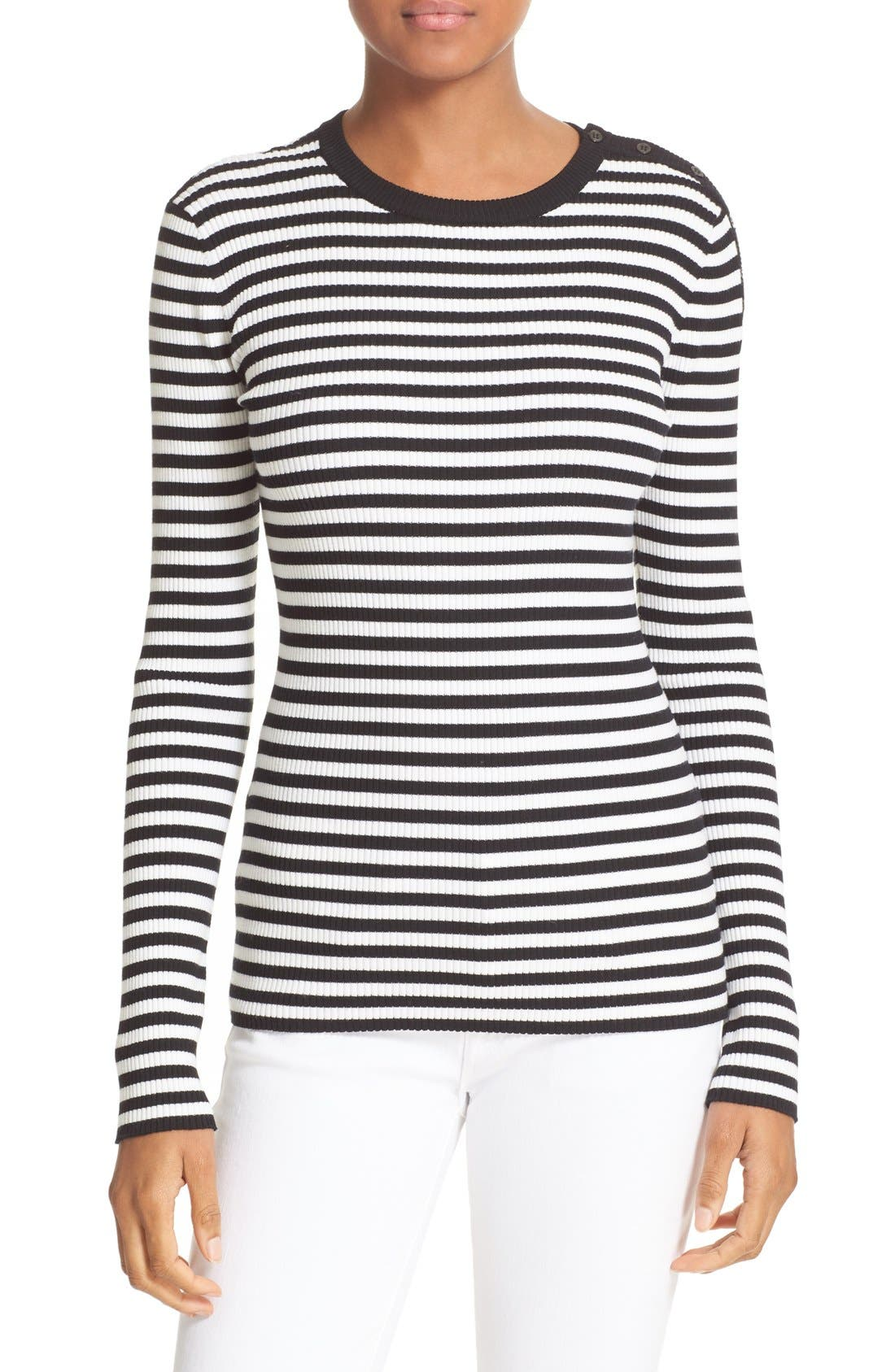 A.L.C. Keenan Stripe Sweater