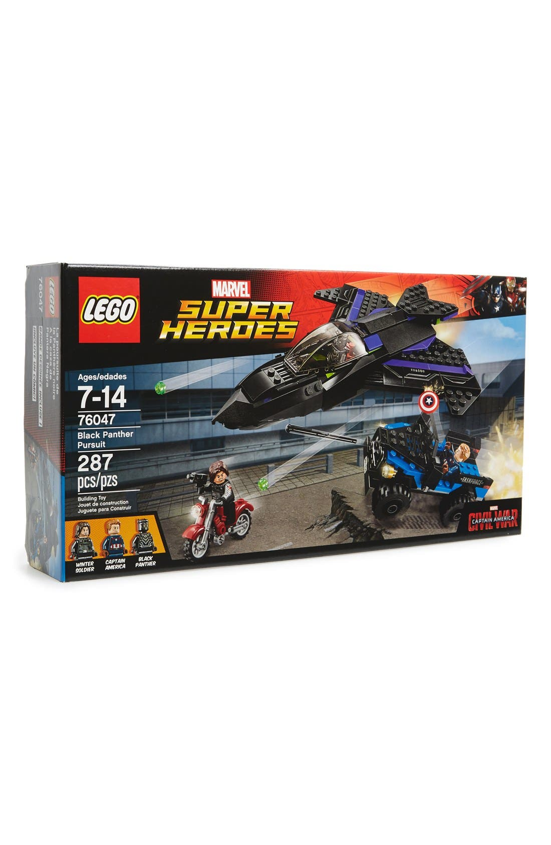 LEGO® Marvel Super Heroes Black Panther Pursuit -
