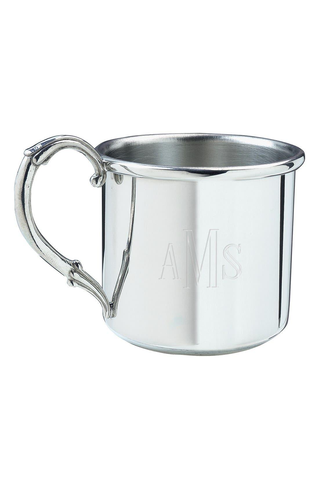 Alternate Image 2  - Salisbury Pewter 'Easton - Cross' Personalized Cup