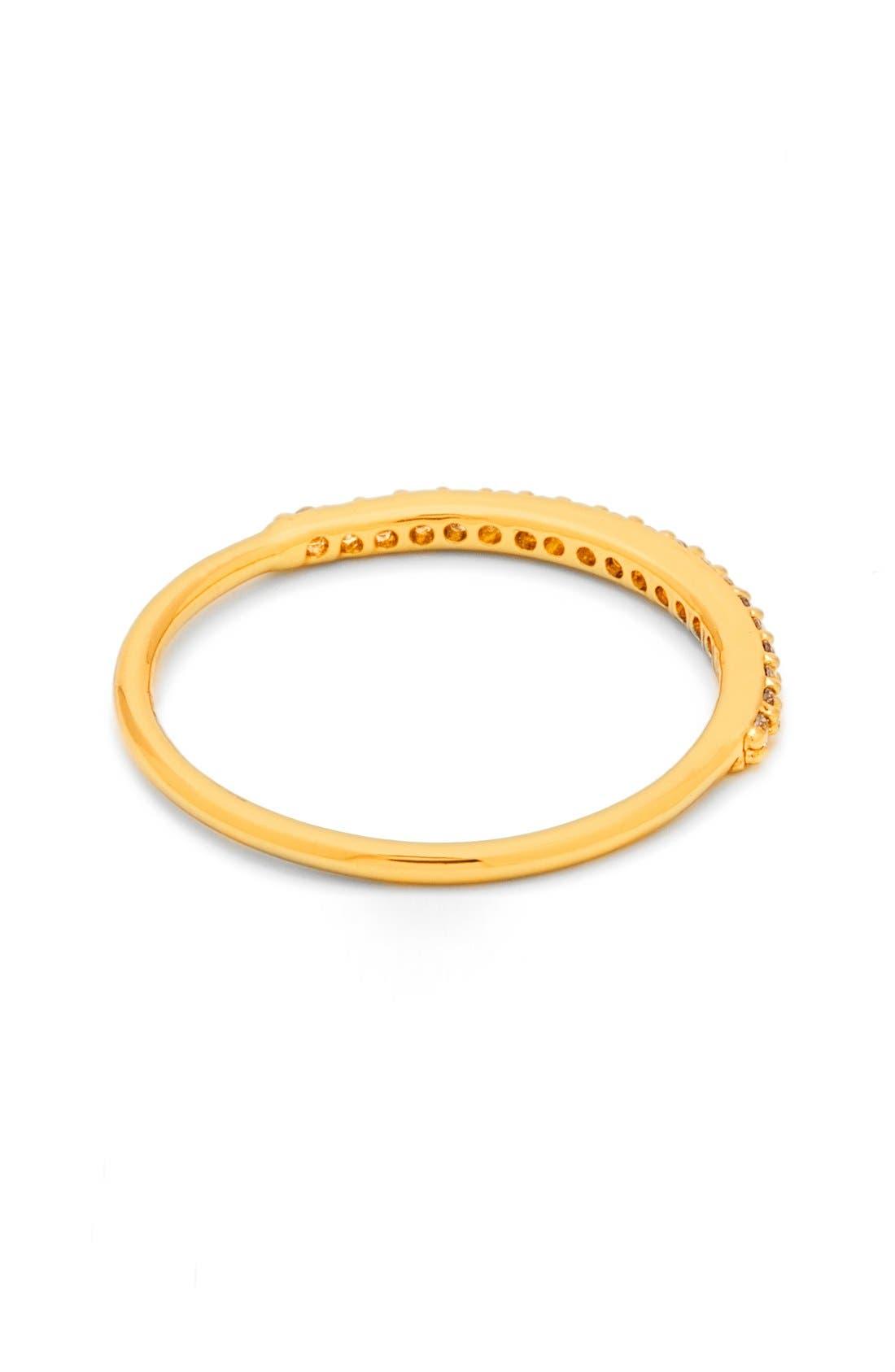 Alternate Image 3  - gorjana Shimmer Bar Midi Ring