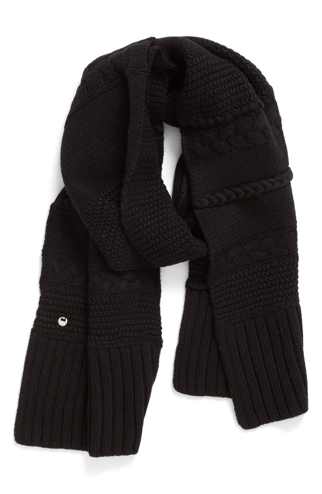 Alternate Image 1 Selected - UGG® Cable Knit Scarf