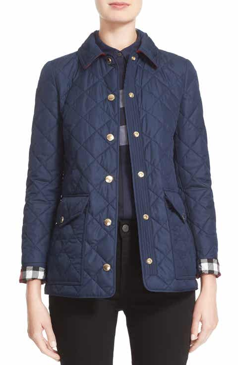 Burberry Women S Coats Clothing Trench Coats Tops Amp More