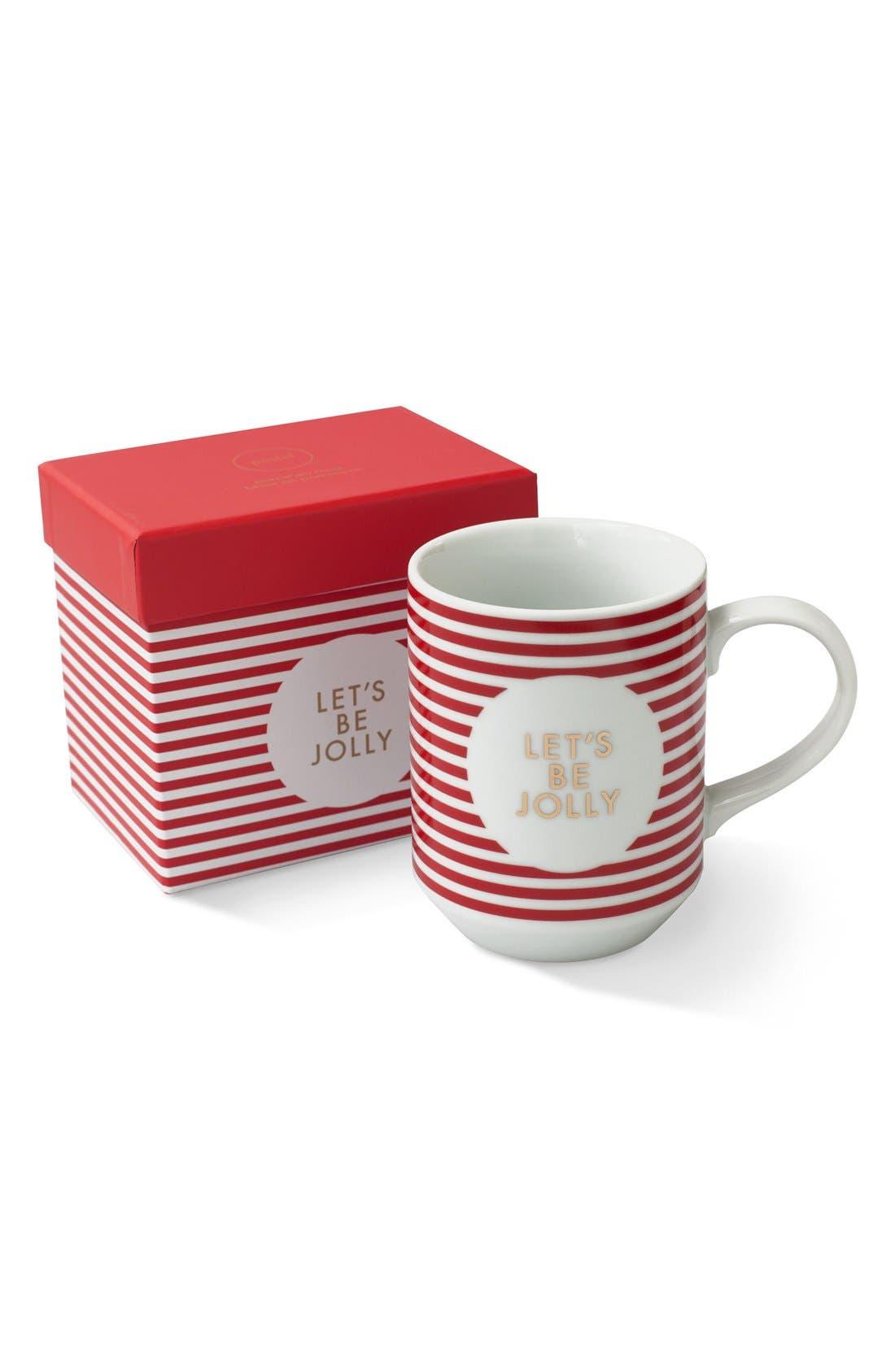 Main Image - Fringe Studio Let's Be Jolly Boxed Mug