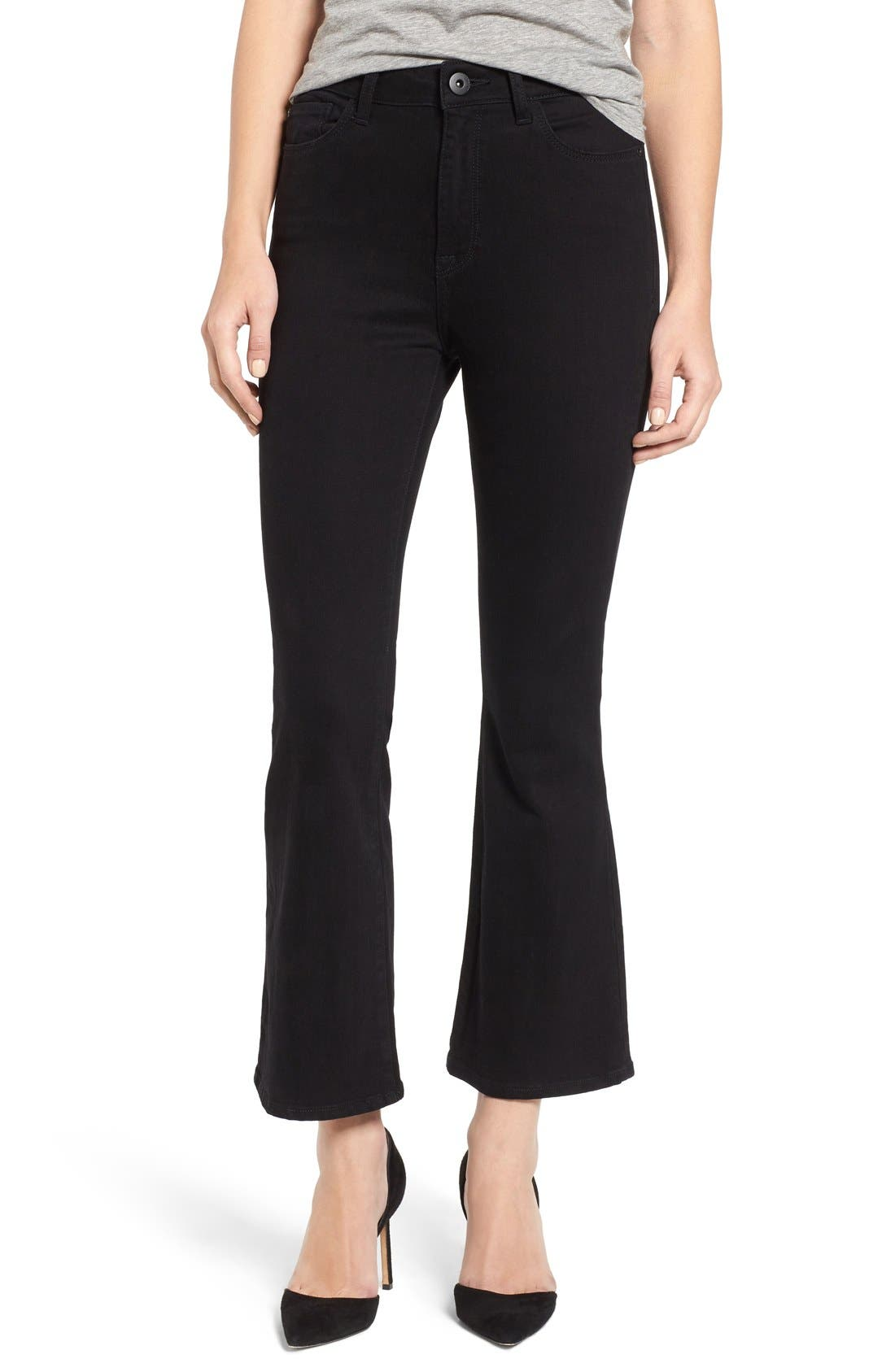 DL1961 Jackie High Waist Crop Flare Jeans