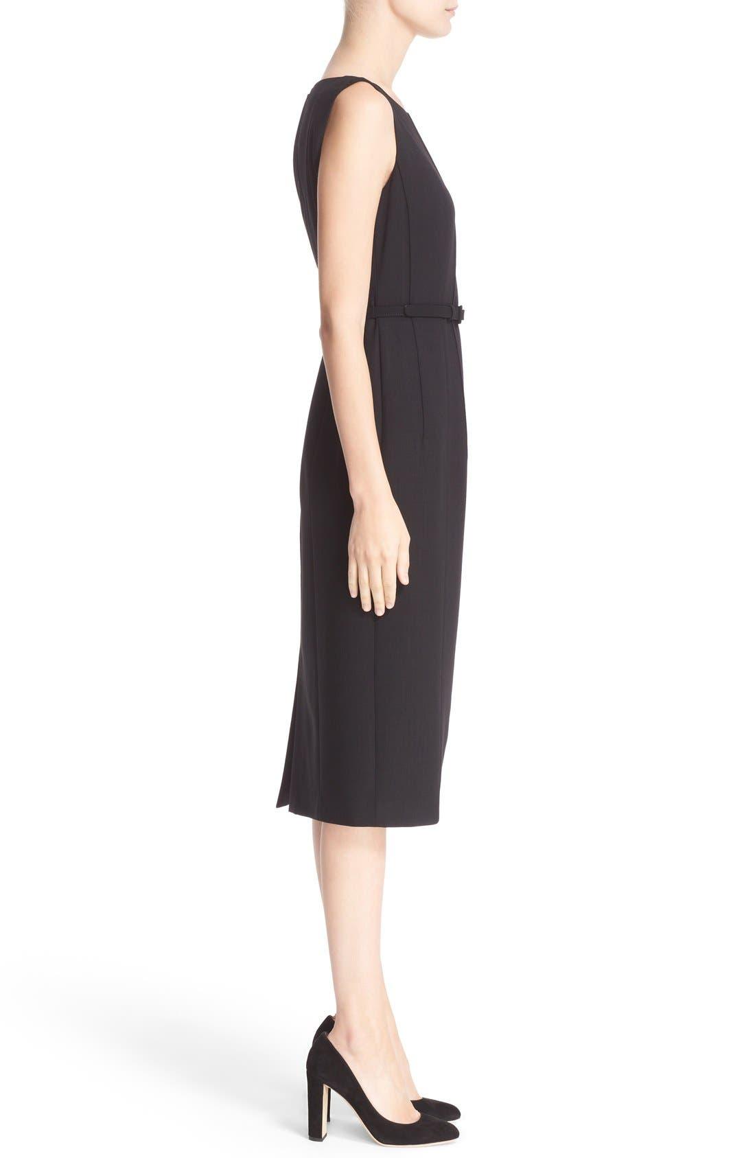 Alternate Image 4  - Lafayette 148 New York Debra Luxe Italian Double Face Dress