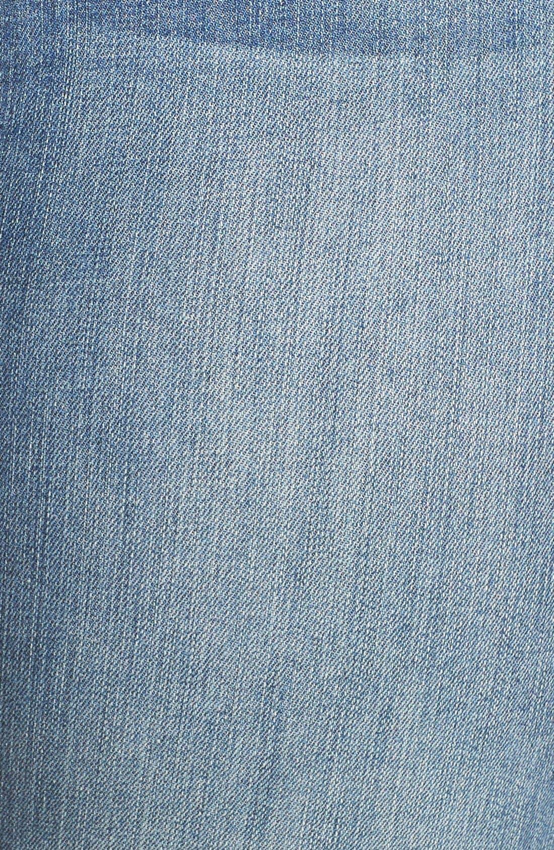 Alternate Image 7  - Good American Good Legs High Rise Ripped Skinny Jeans