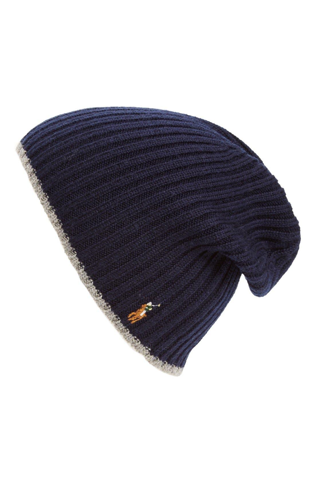 Alternate Image 1 Selected - Polo Ralph Lauren Classic Merino Wool Cap