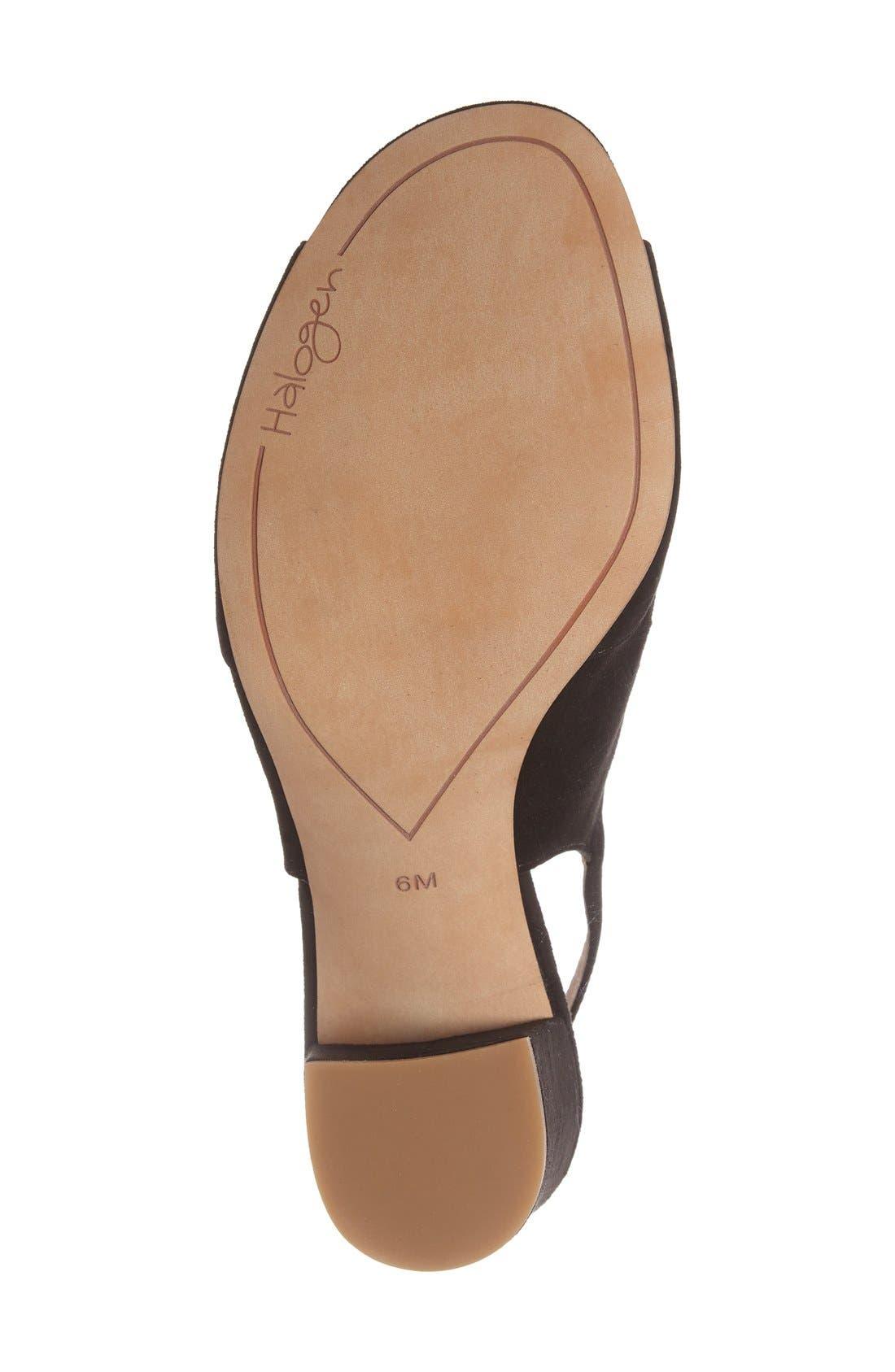 Alternate Image 4  - Halogen® Zoey Slingback Sandal (Women)