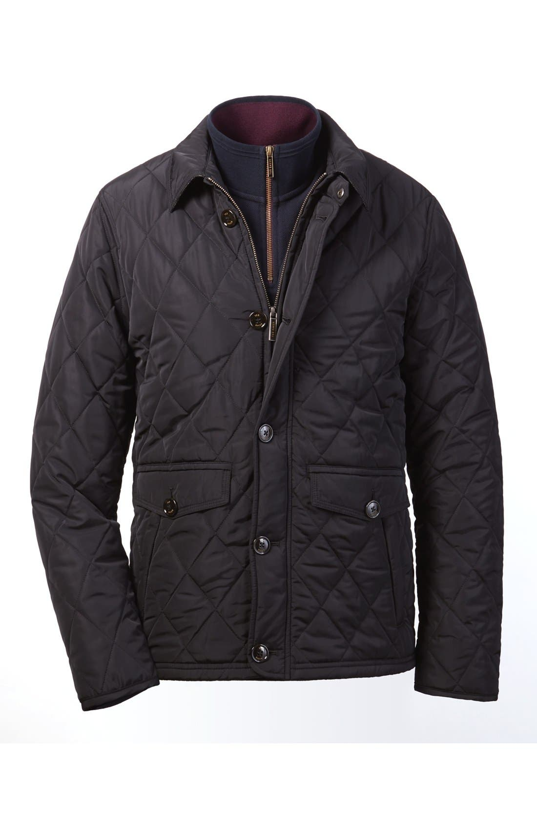 Alternate Image 6  - Ted Baker London Quilted Jacket