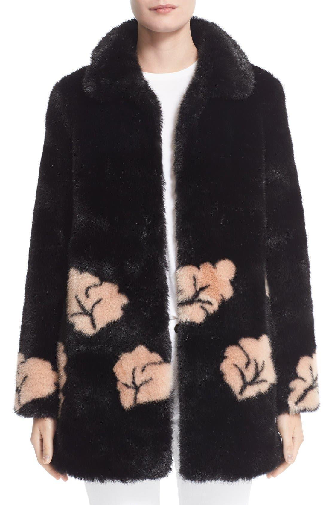 Main Image - Shrimps Margery Faux Fur Coat