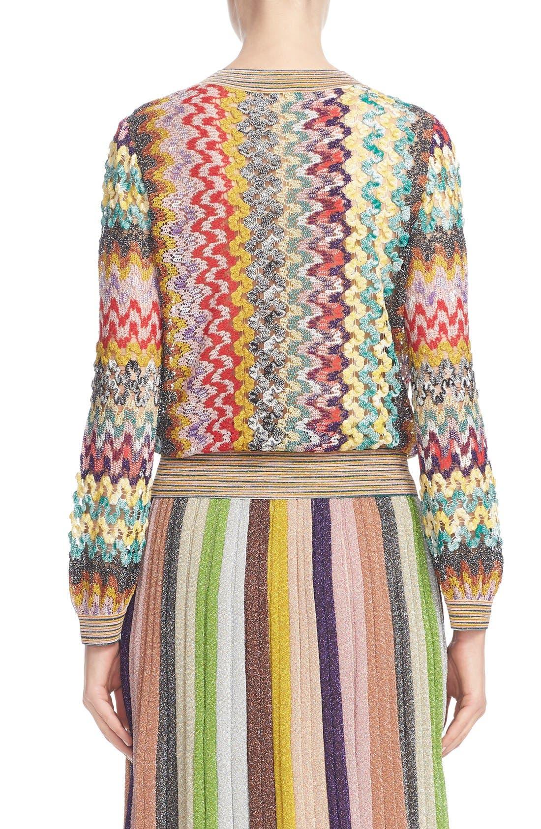 Alternate Image 2  - Missoni Metallic Knit Sweater